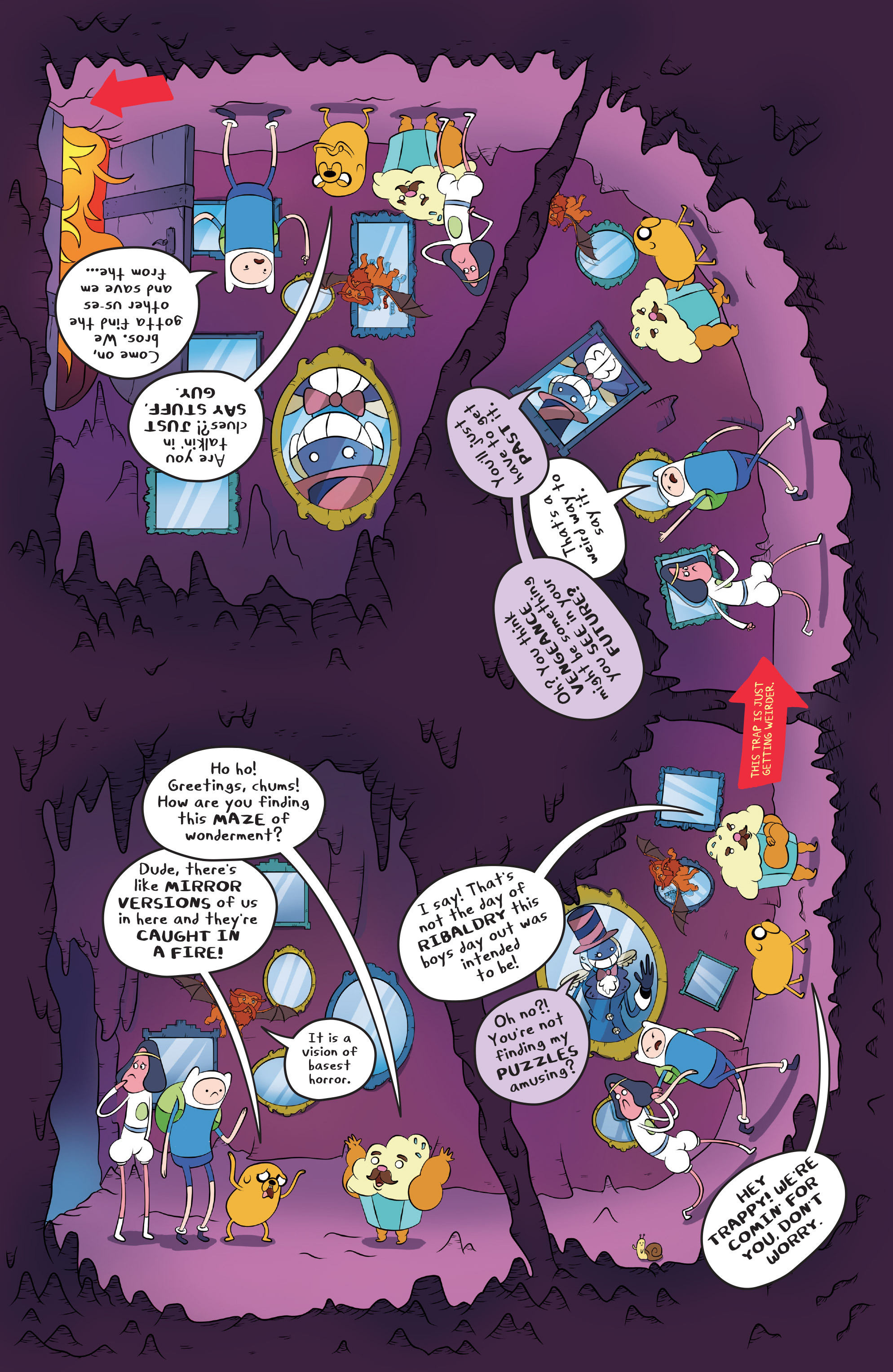 Read online Adventure Time comic -  Issue #45 - 17