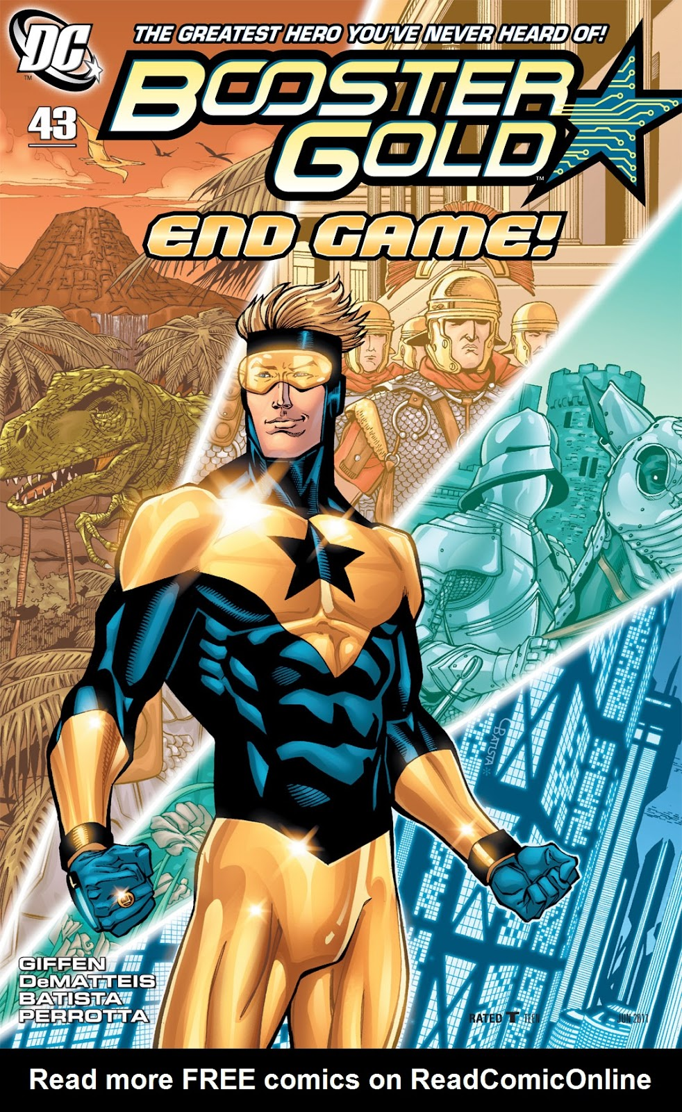 Booster Gold (2007) issue 43 - Page 1