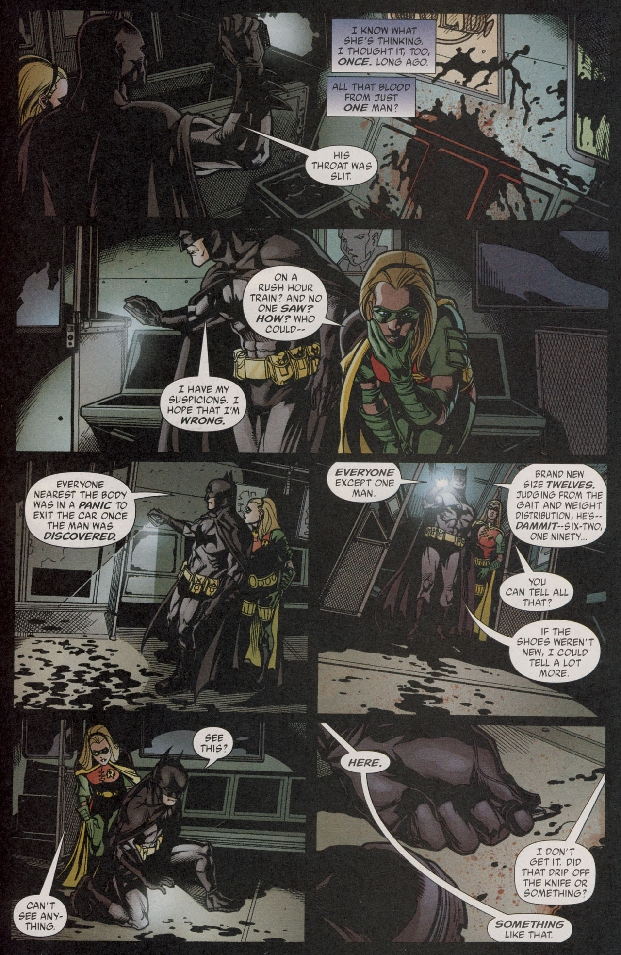 Read online Batman War Drums comic -  Issue # TPB - 183