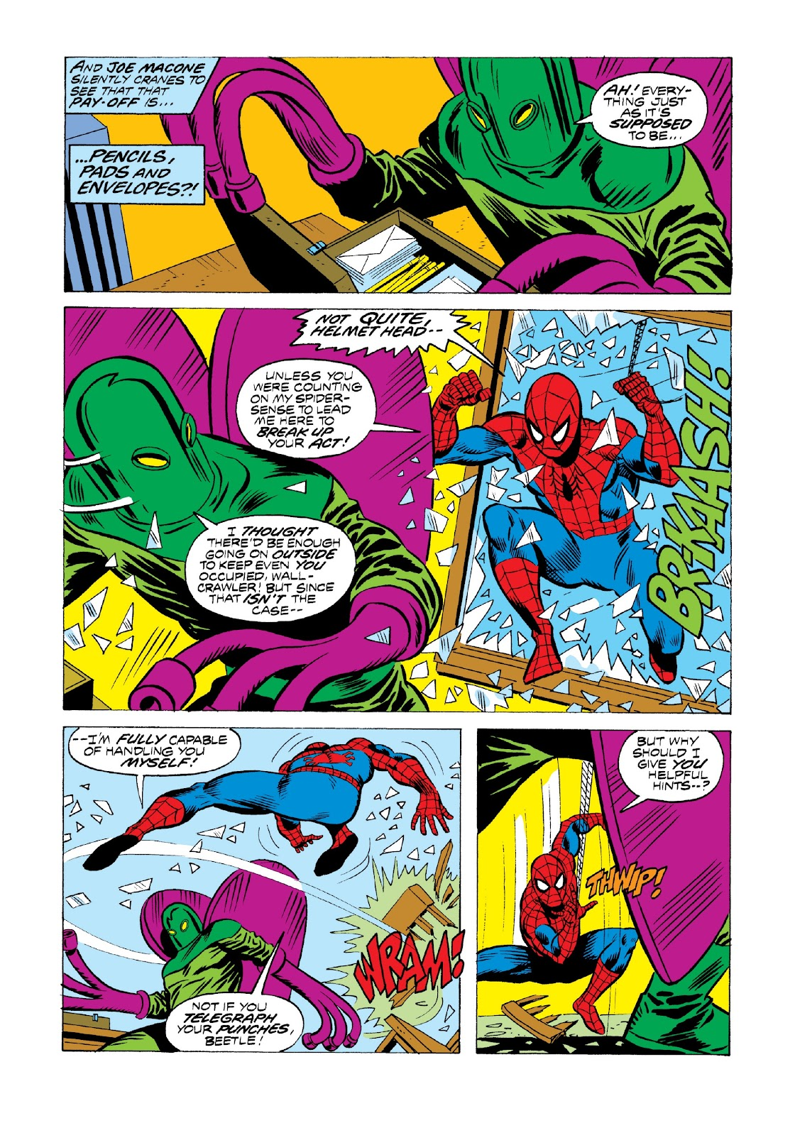 Read online Marvel Masterworks: The Spectacular Spider-Man comic -  Issue # TPB 2 (Part 1) - 20