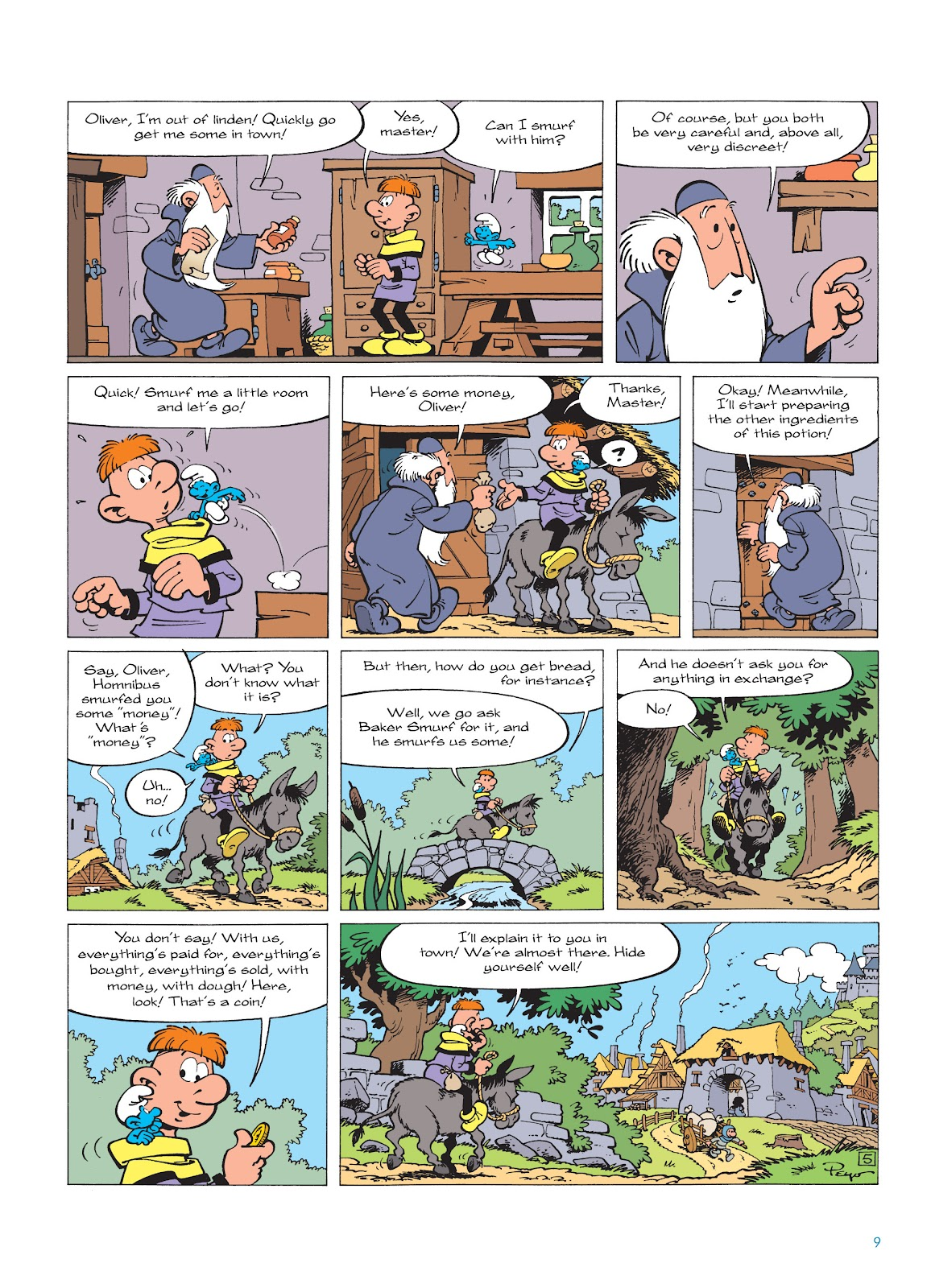 Read online The Smurfs comic -  Issue #18 - 9