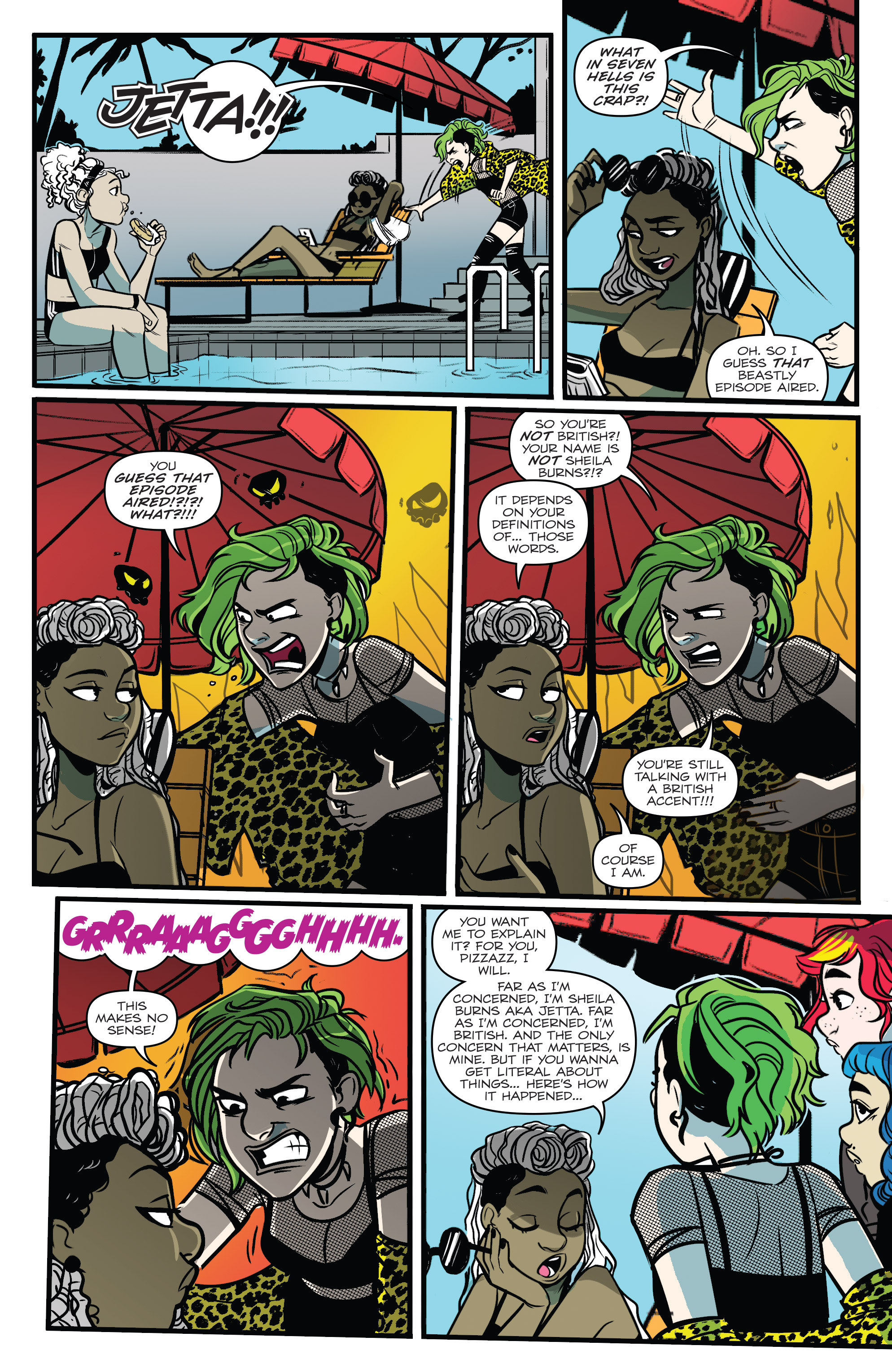 Read online Jem: The Misfits comic -  Issue #5 - 9