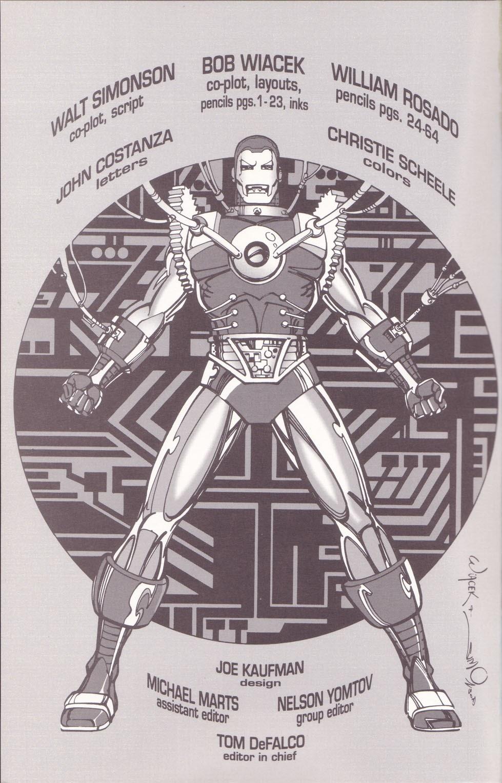 Iron Man 2020 (1994) Full Page 2