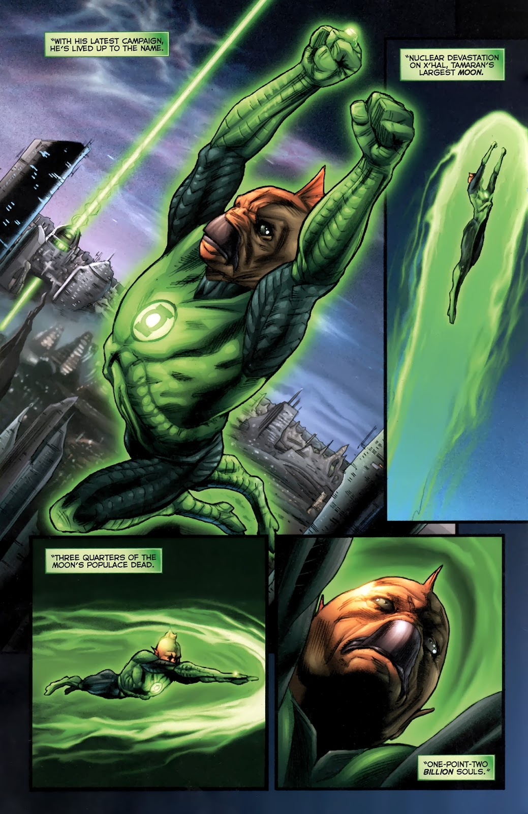 Read online Green Lantern Movie Prequel: Tomar-Re comic -  Issue # Full - 4