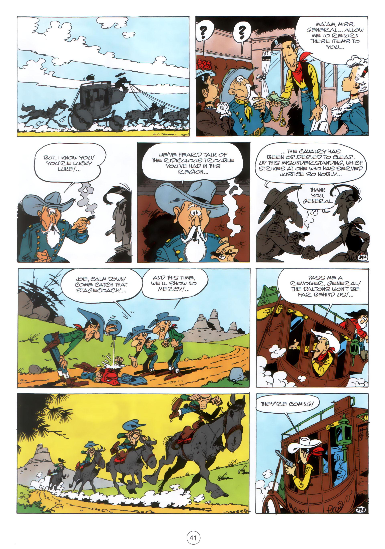Read online A Lucky Luke Adventure comic -  Issue #30 - 40