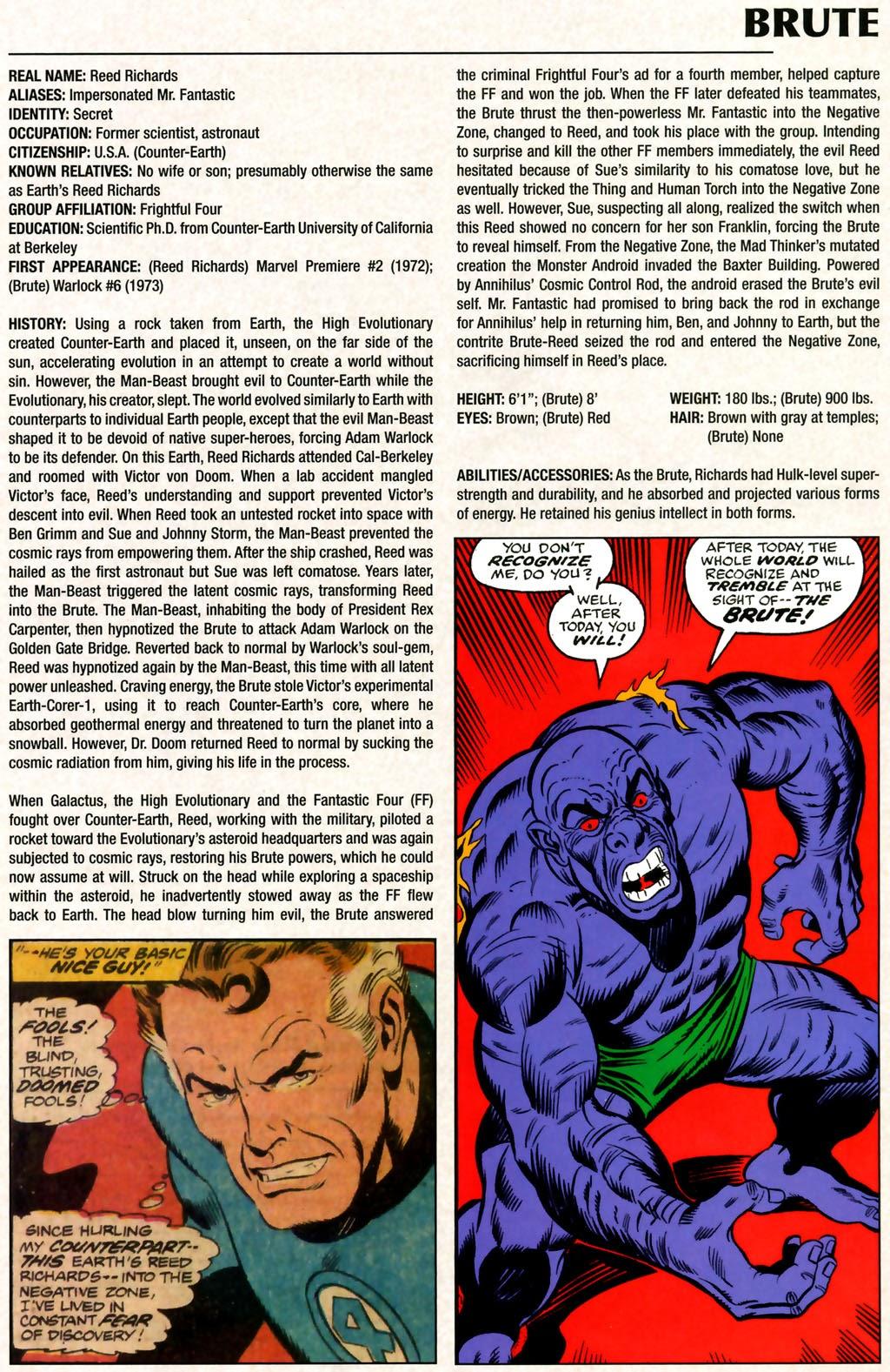 Read online Marvel Legacy: The 1970's Handbook comic -  Issue # Full - 7