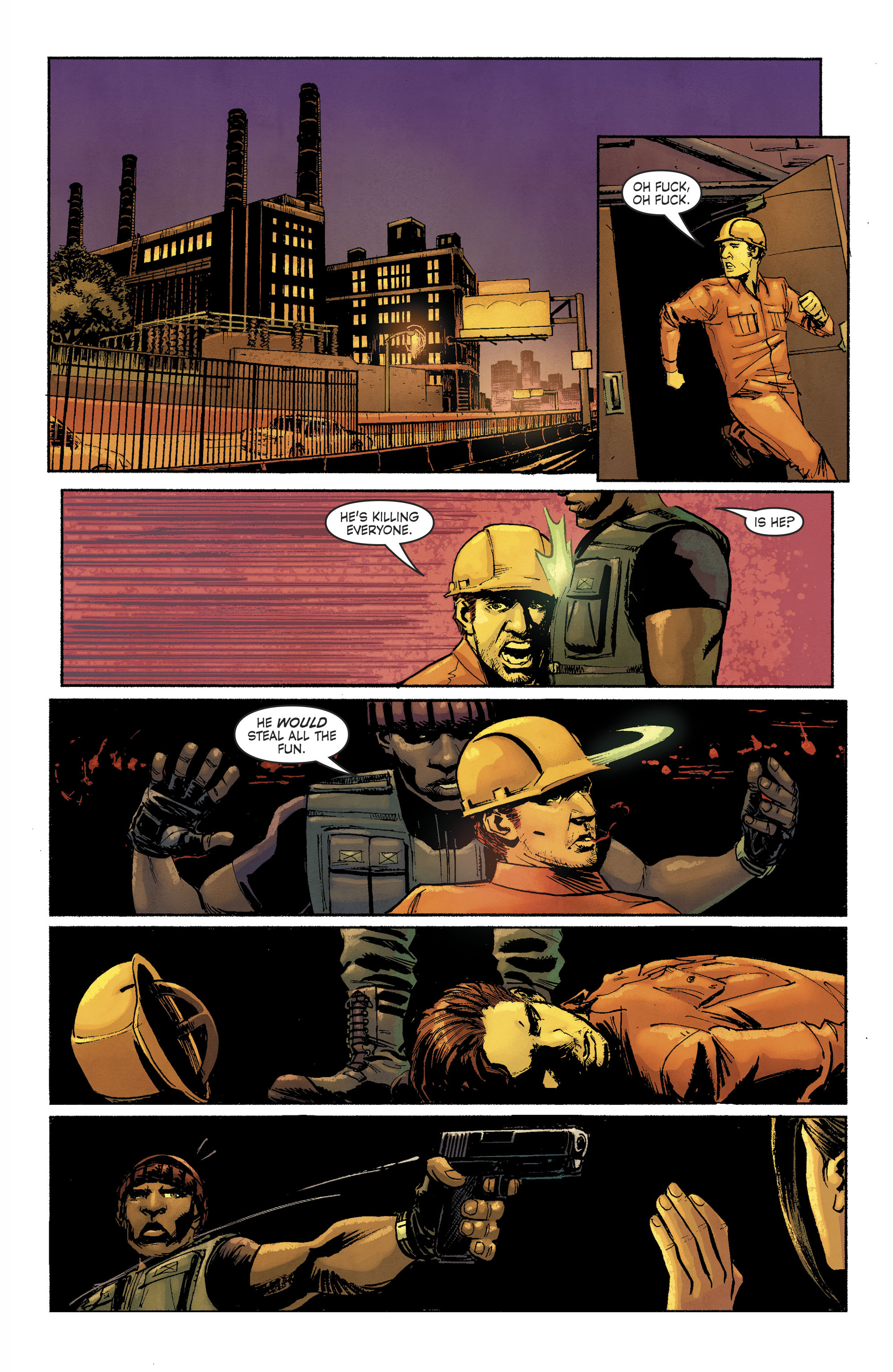 Read online Savage Things comic -  Issue #3 - 12