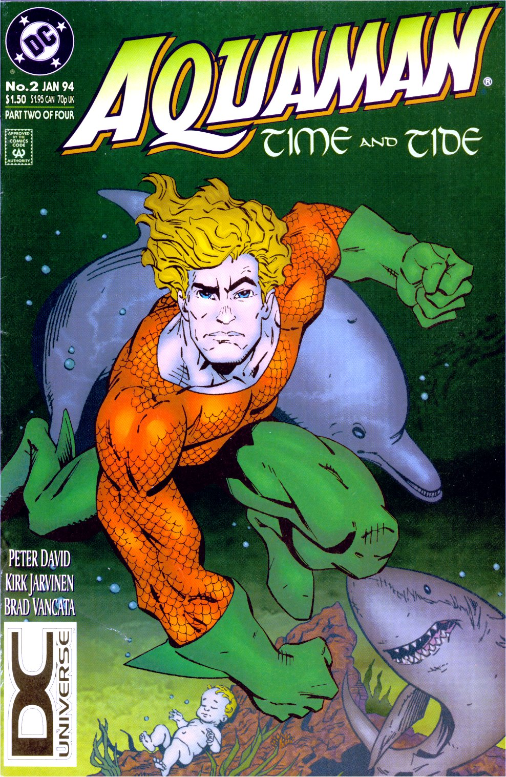 Read online Aquaman: Time and Tide comic -  Issue #2 - 1