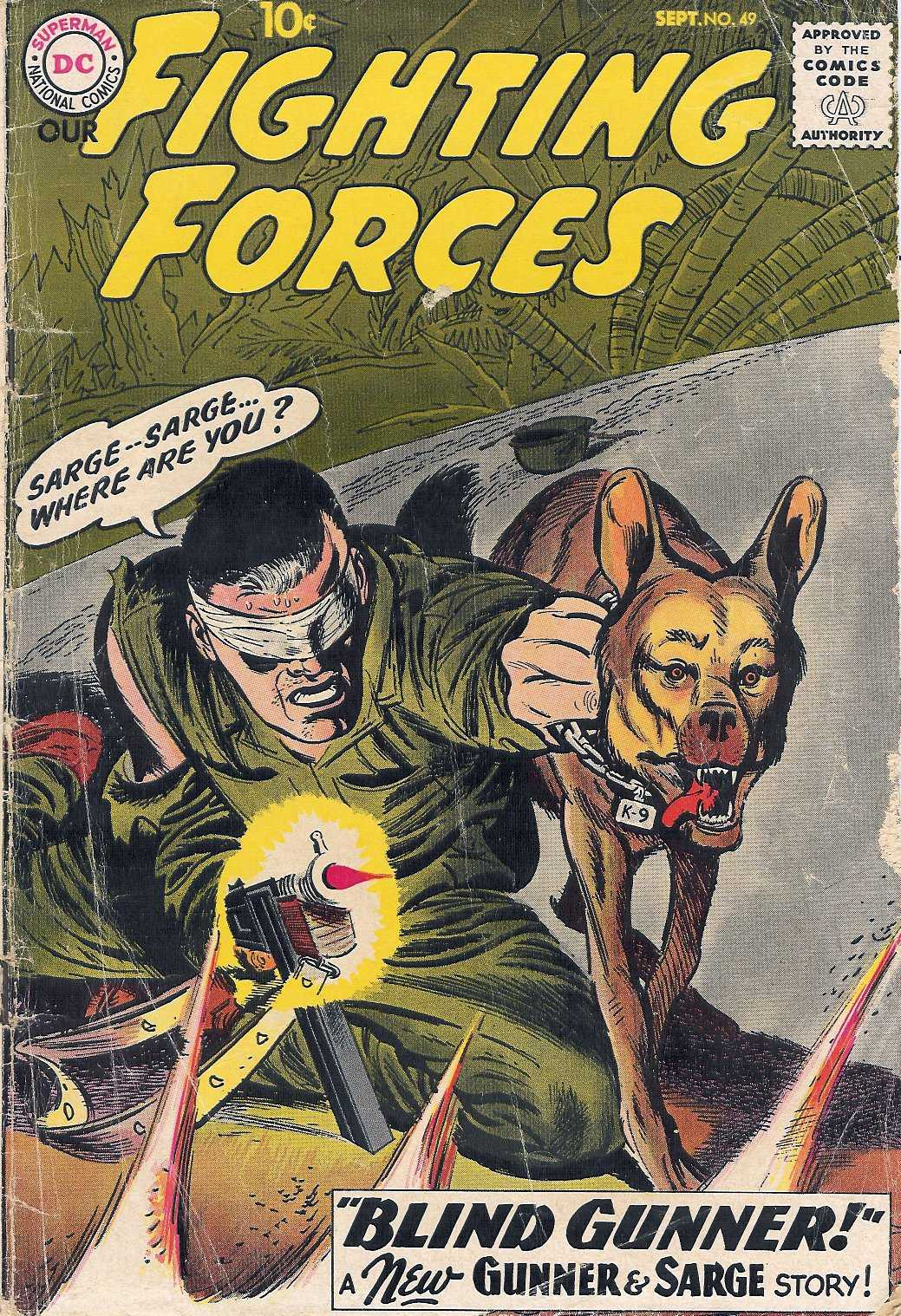 Our Fighting Forces (1954) issue 49 - Page 1