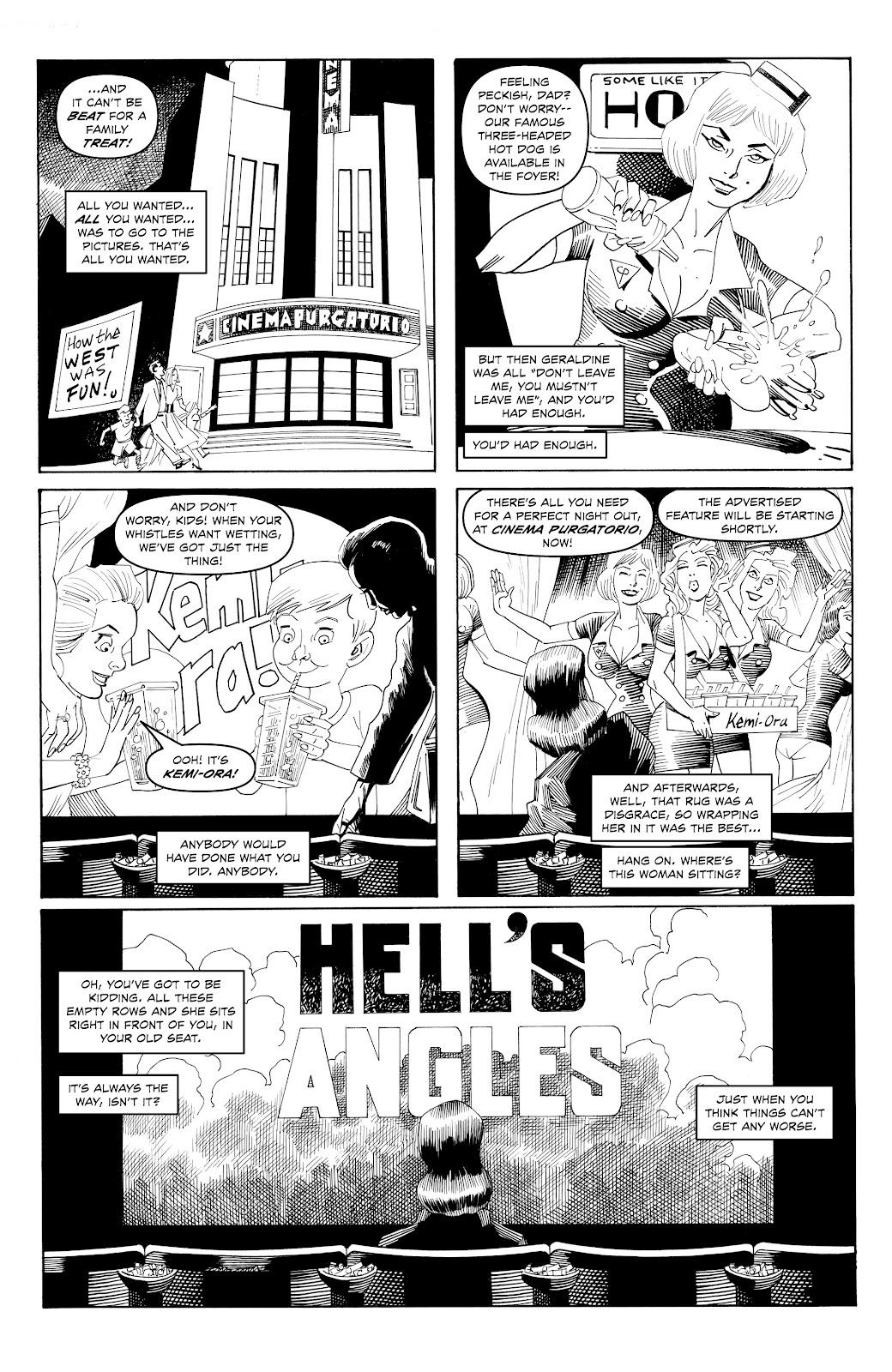 Read online Alan Moore's Cinema Purgatorio comic -  Issue #17 - 5