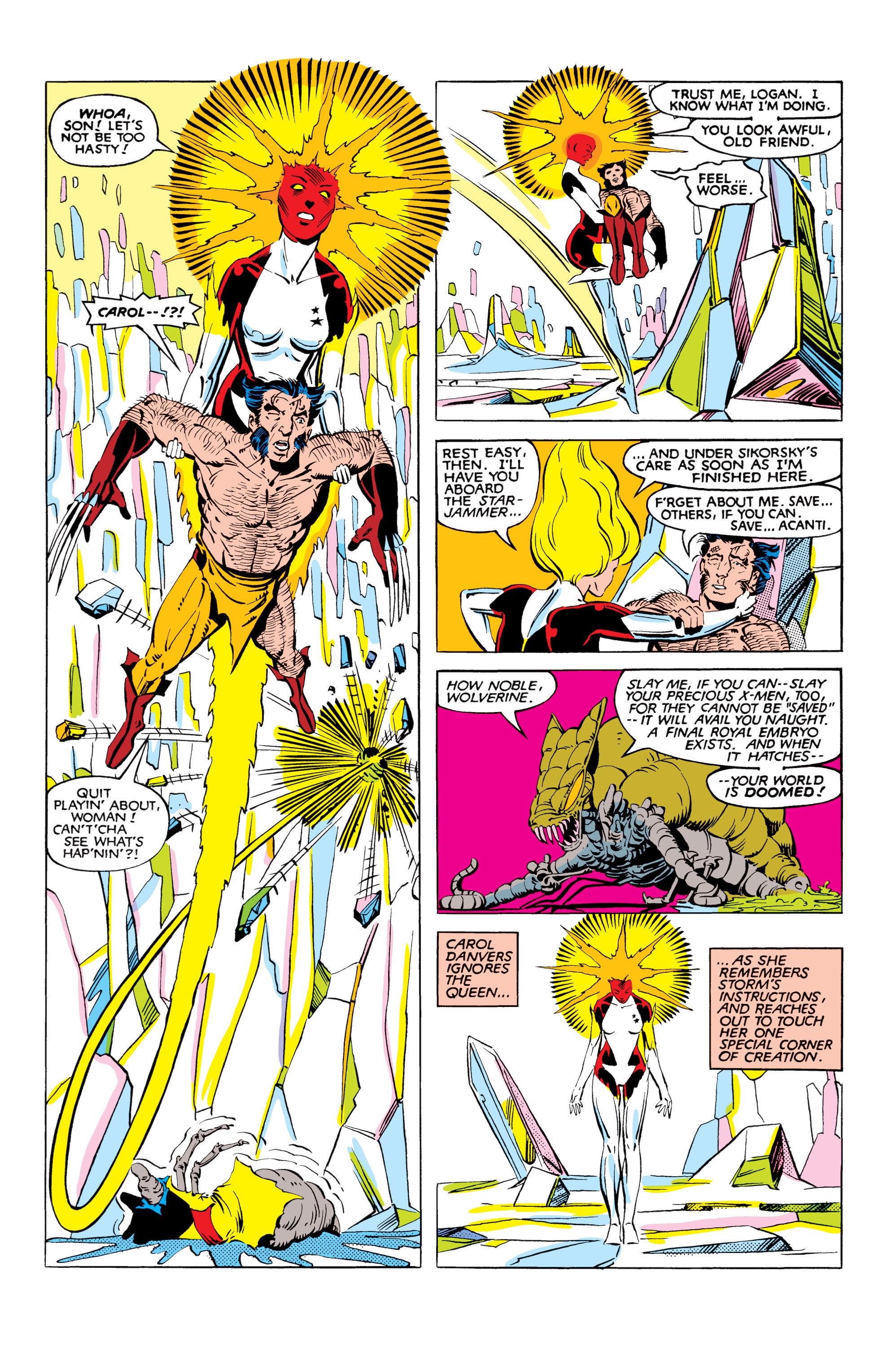 Read online Uncanny X-Men (1963) comic -  Issue #166 - 34