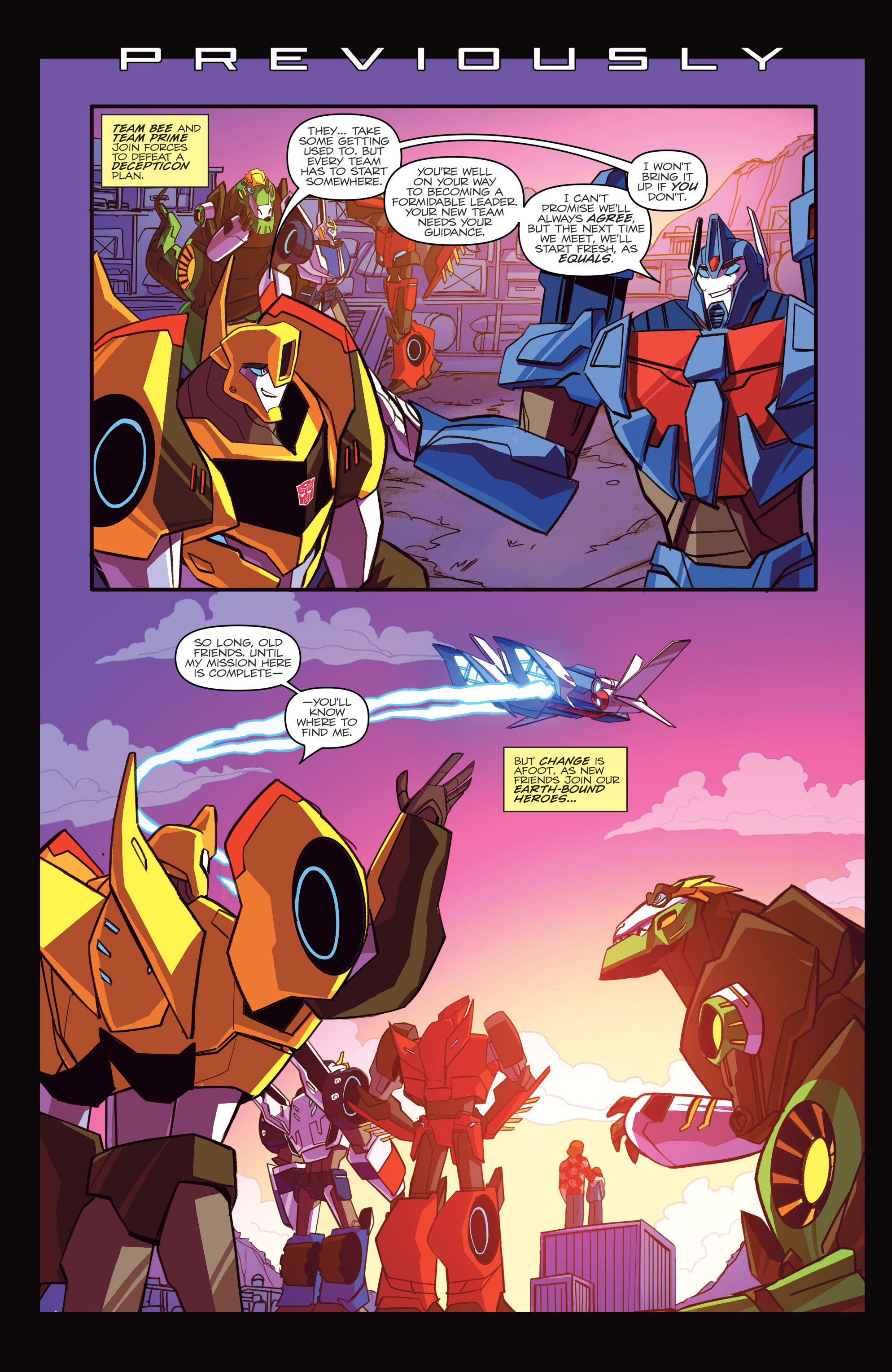Read online Transformers: Robots In Disguise (2015) comic -  Issue #5 - 3
