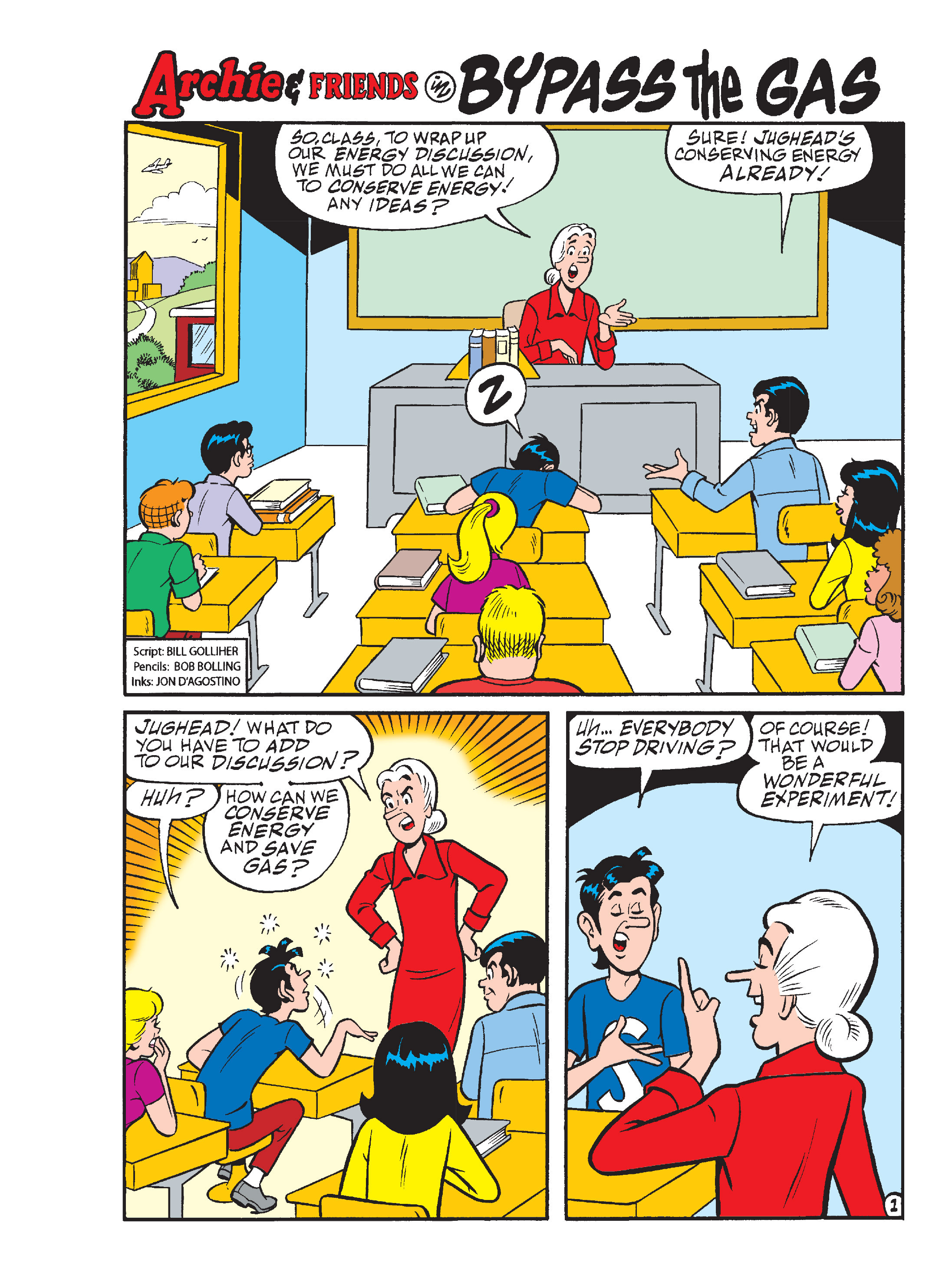 Read online Archie's Funhouse Double Digest comic -  Issue #13 - 62
