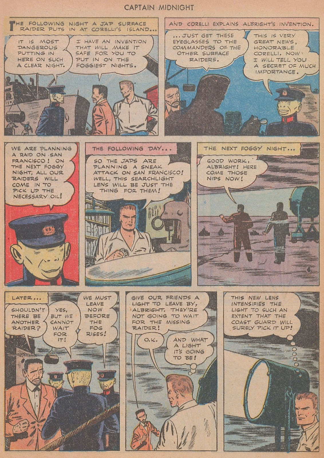 Captain Midnight (1942) issue 29 - Page 8