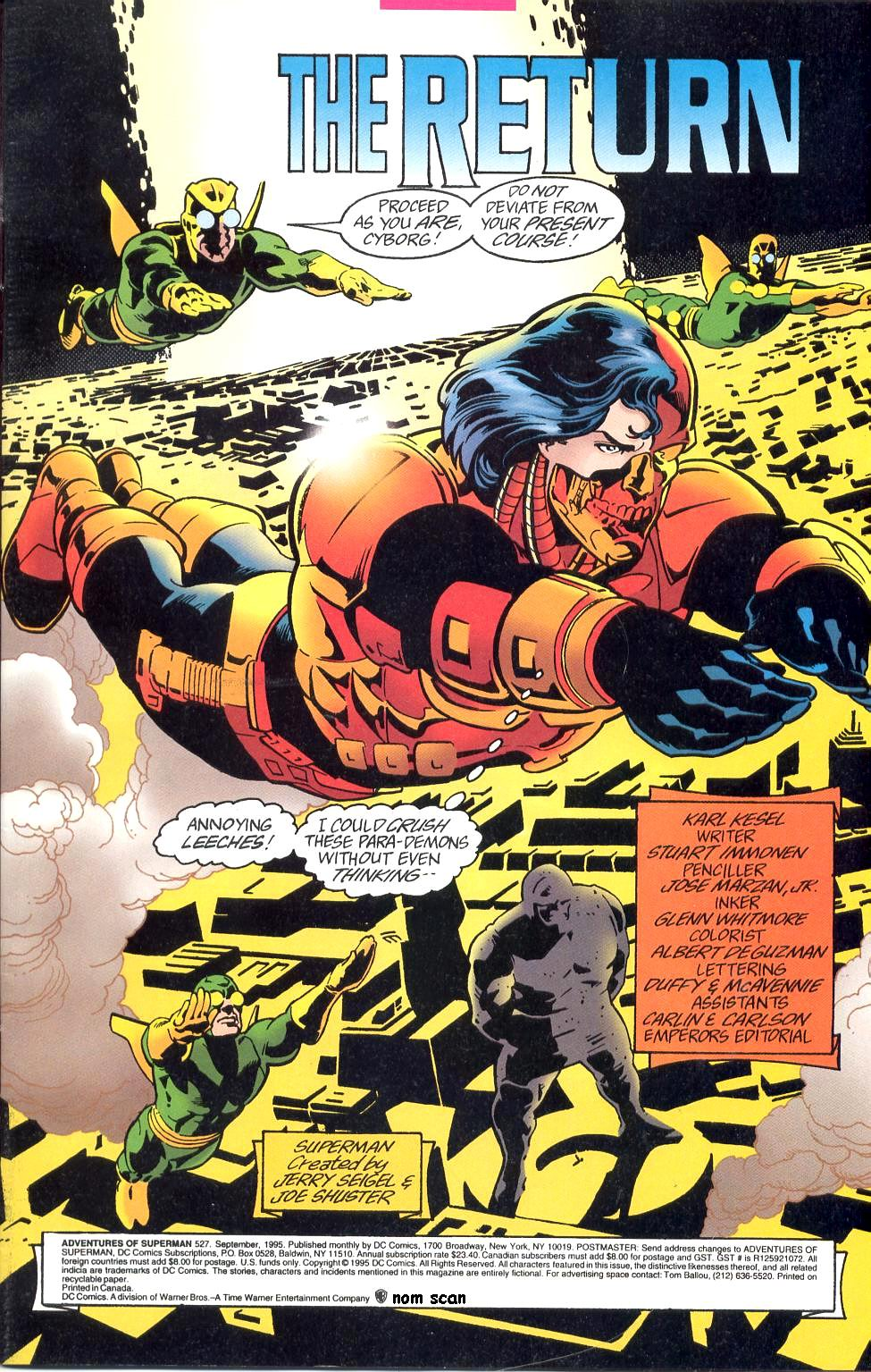 Read online Adventures of Superman (1987) comic -  Issue #527 - 2