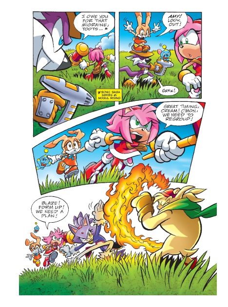 Read online Sonic Comics Spectacular: Speed of Sound comic -  Issue # Full - 195
