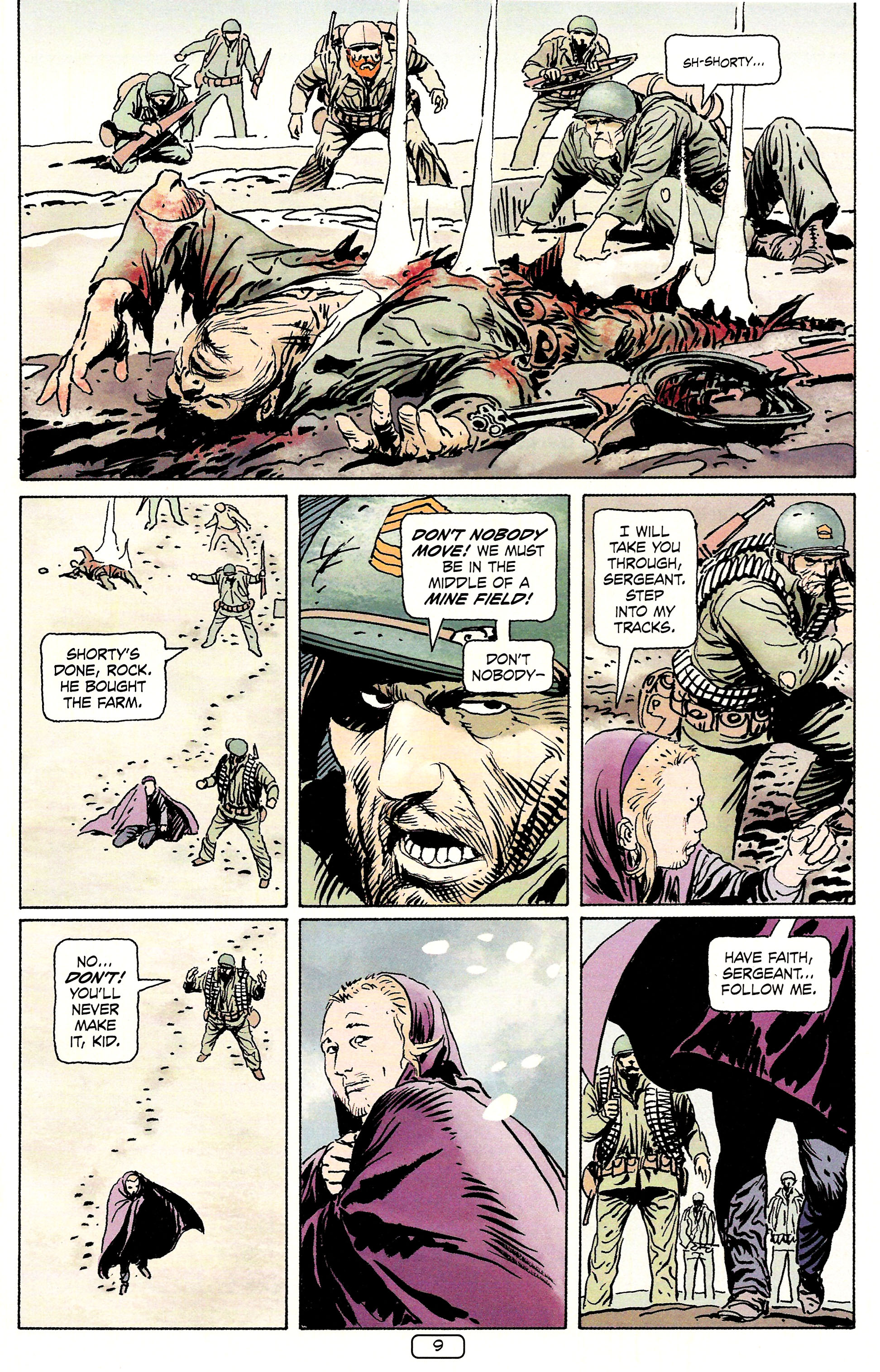 Read online Sgt. Rock: The Prophecy comic -  Issue #4 - 9
