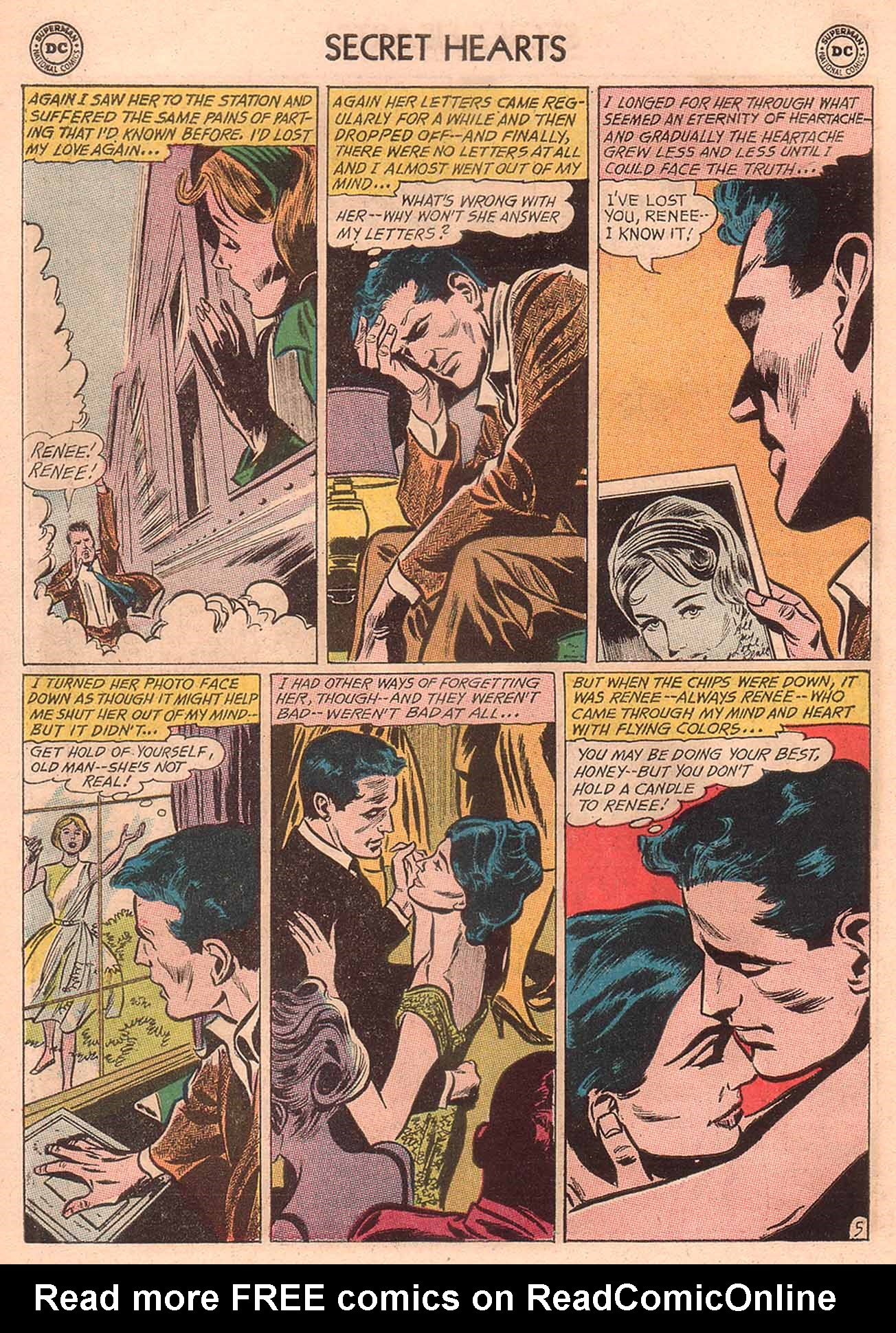 Read online Secret Hearts comic -  Issue #94 - 22
