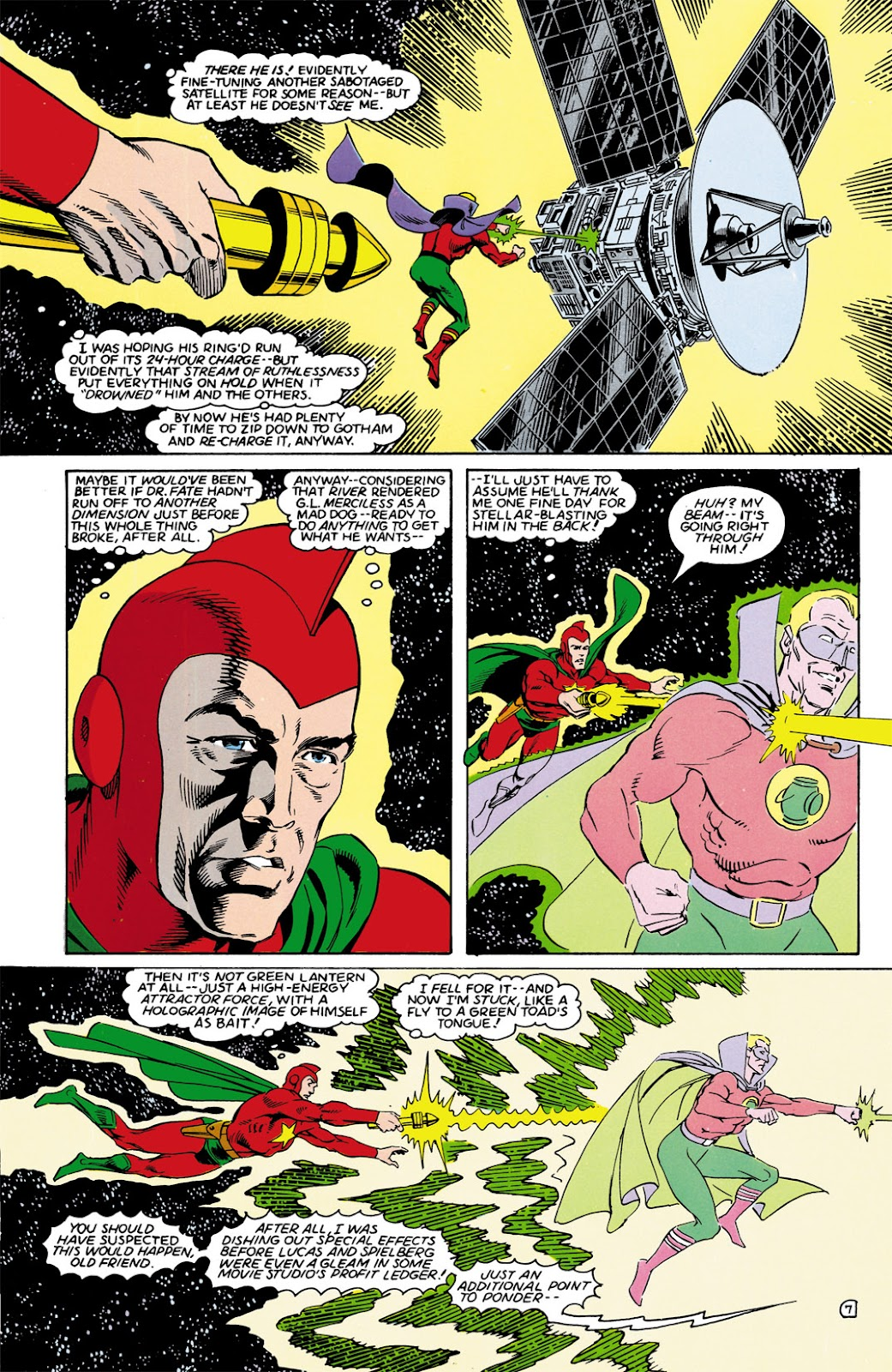 Infinity Inc. (1984) issue 9 - Page 7