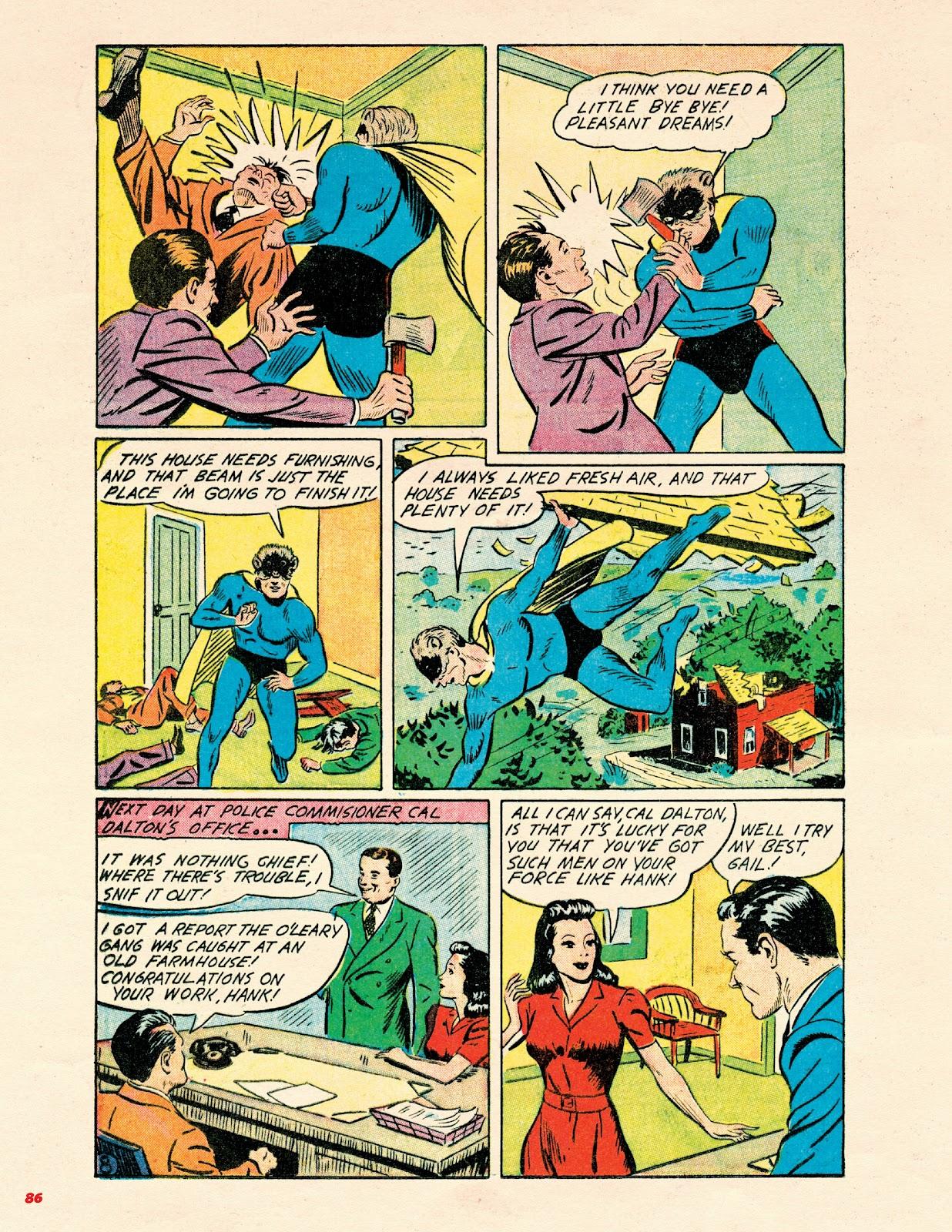 Read online Super Weird Heroes comic -  Issue # TPB 2 (Part 1) - 86