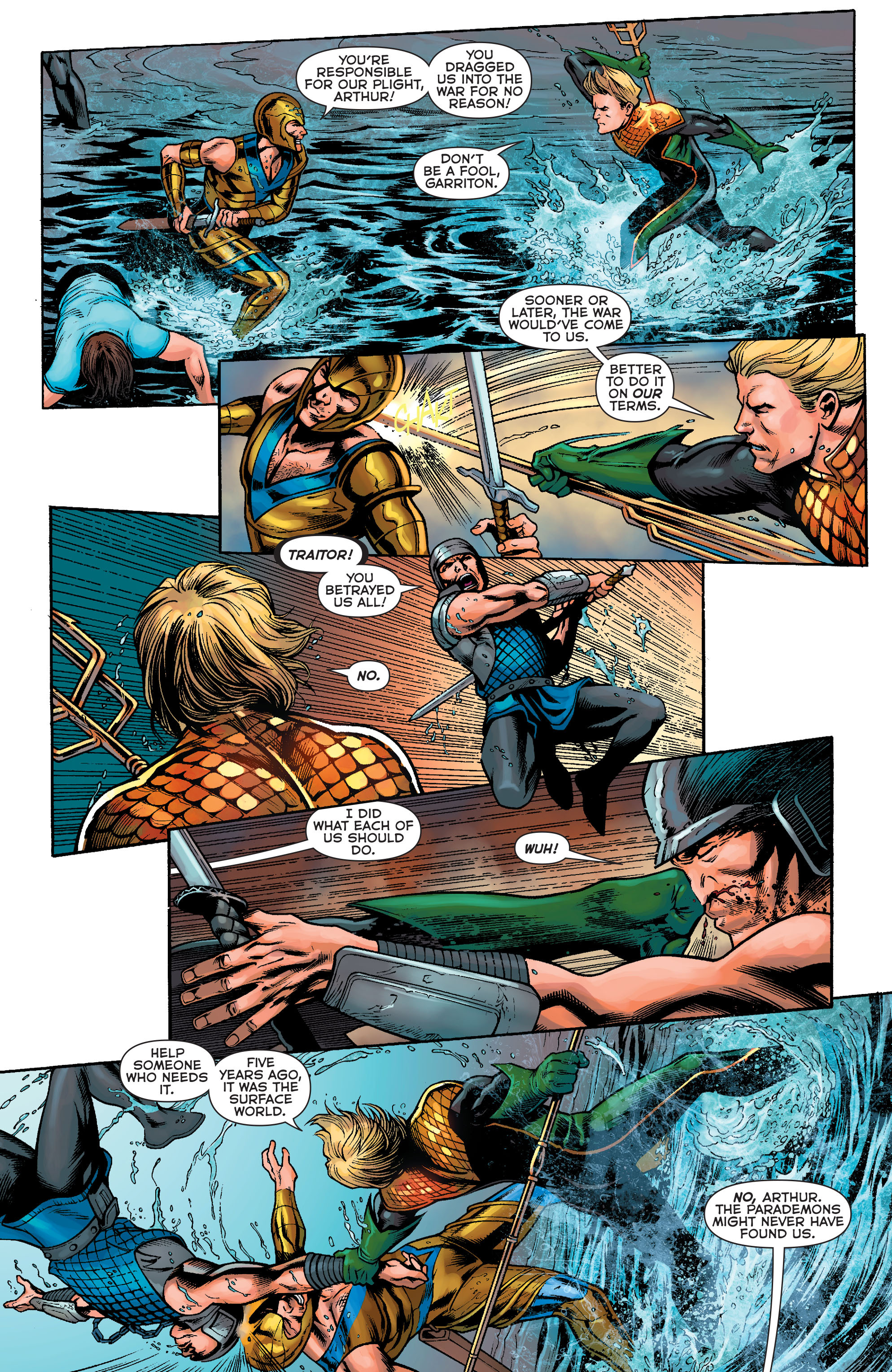 Read online Aquaman: Futures End comic -  Issue #Aquaman: Futures End Full - 6