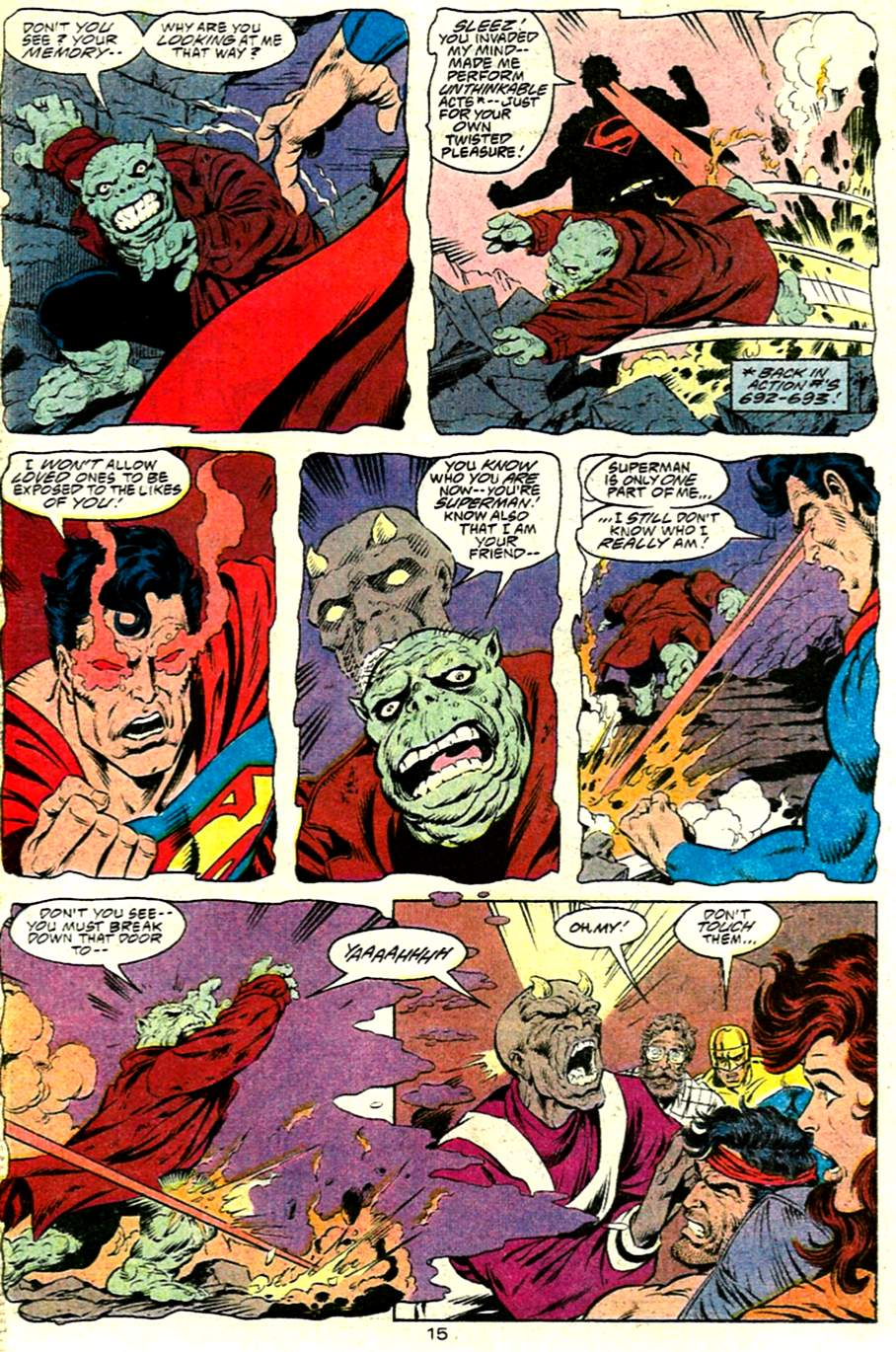 Read online Adventures of Superman (1987) comic -  Issue #485 - 16