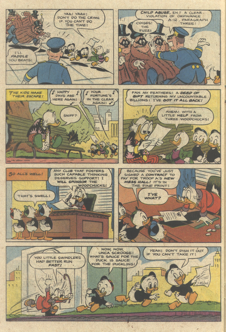 Read online Uncle Scrooge (1953) comic -  Issue #240 - 22