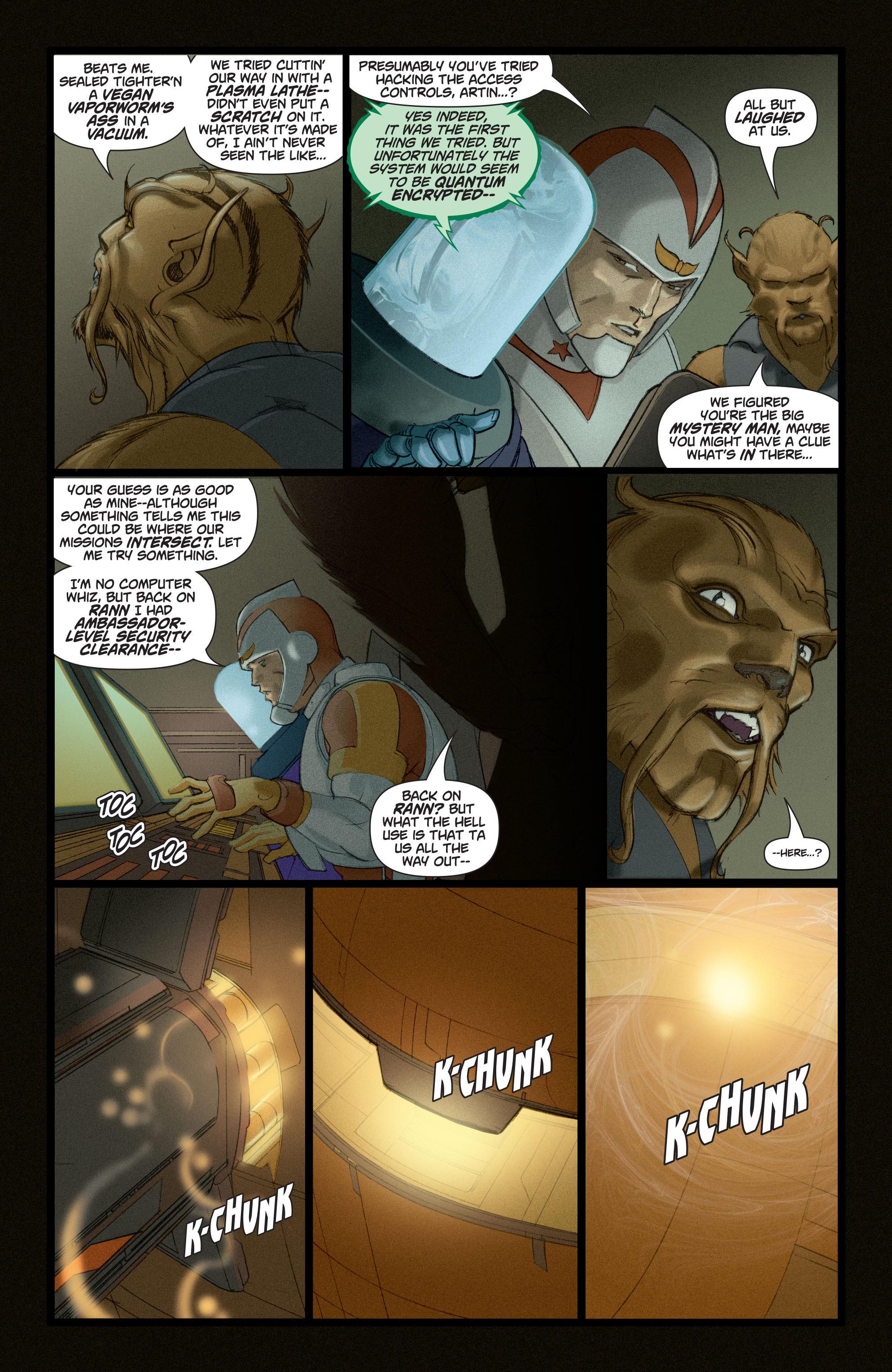Read online Adam Strange (2004) comic -  Issue #4 - 20