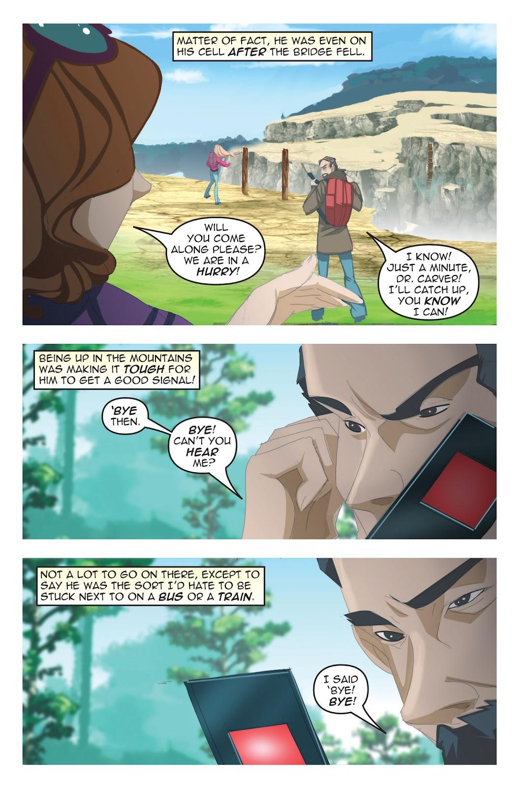 Read online Nancy Drew comic -  Issue #19 - 20