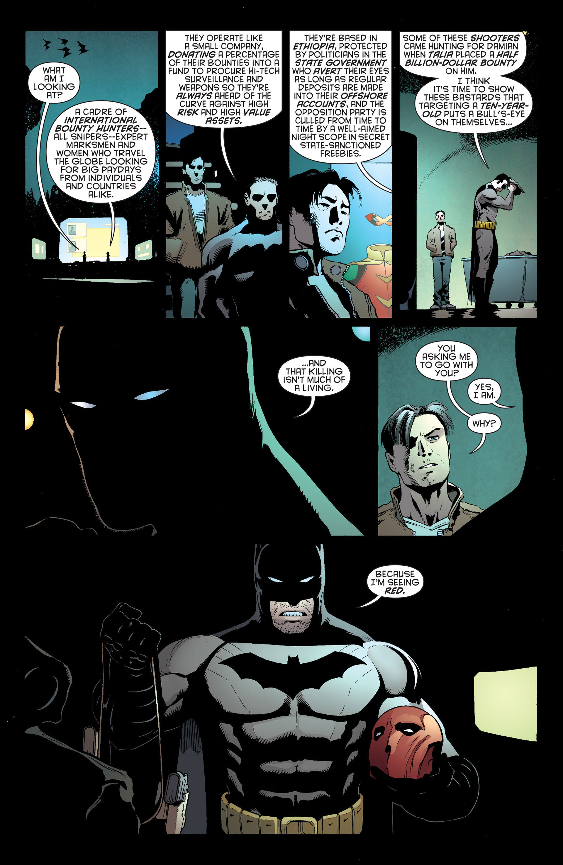 Read online Batman and Robin (2011) comic -  Issue #20 - 10