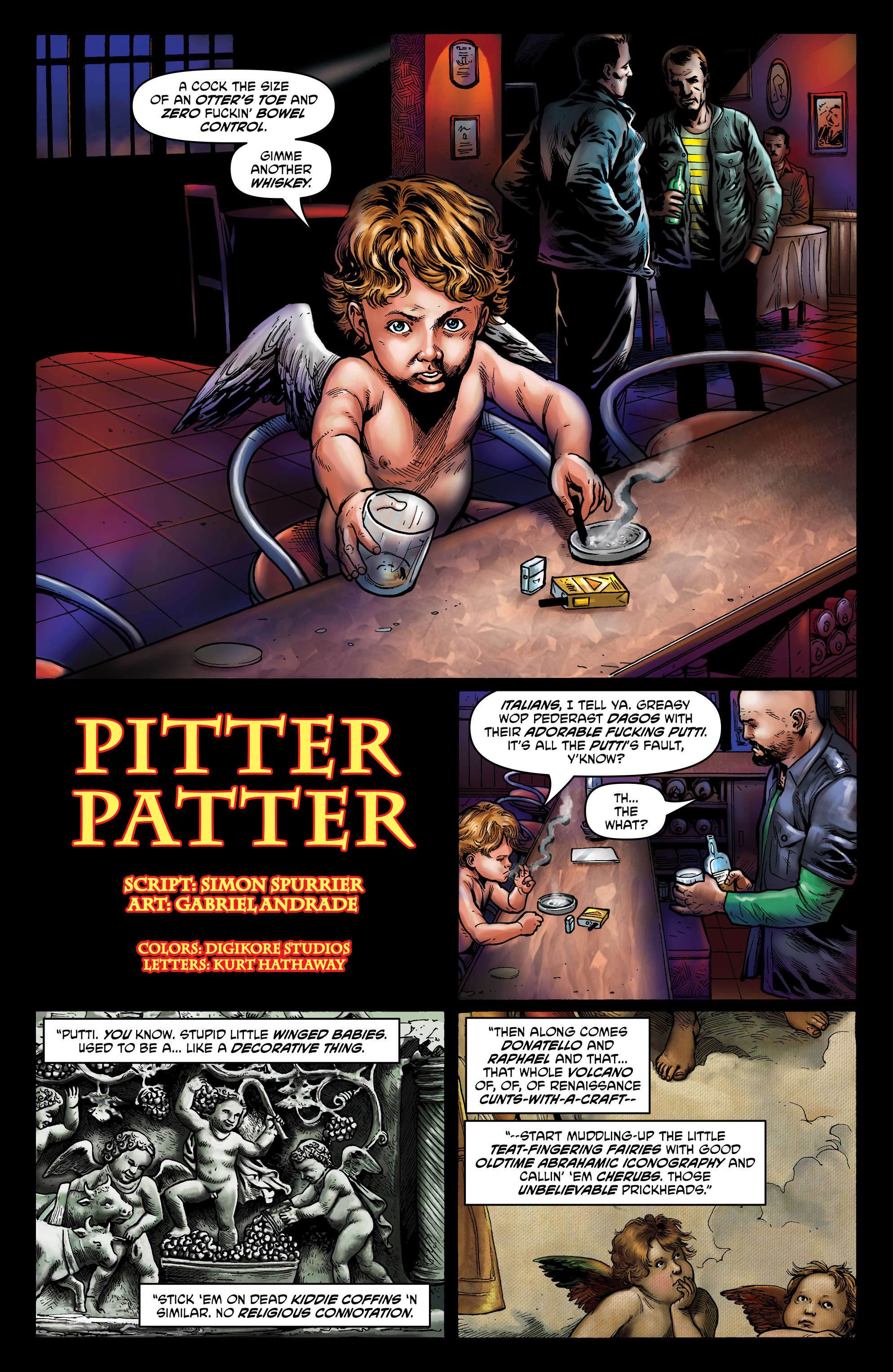 Read online God is Dead: Book of Acts comic -  Issue # Alpha - 38
