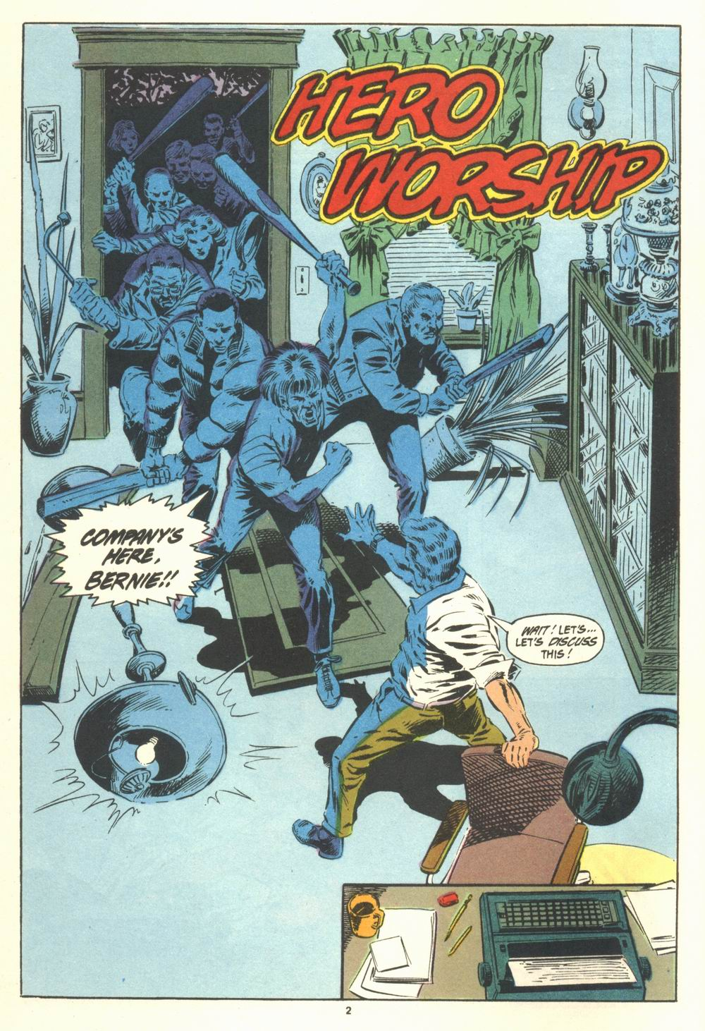 Read online Justice (1986) comic -  Issue #19 - 4