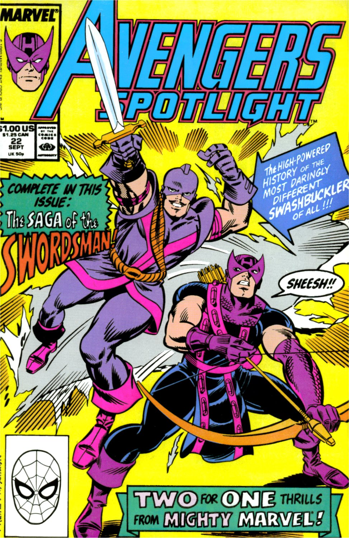 Avengers Spotlight 22 Page 1