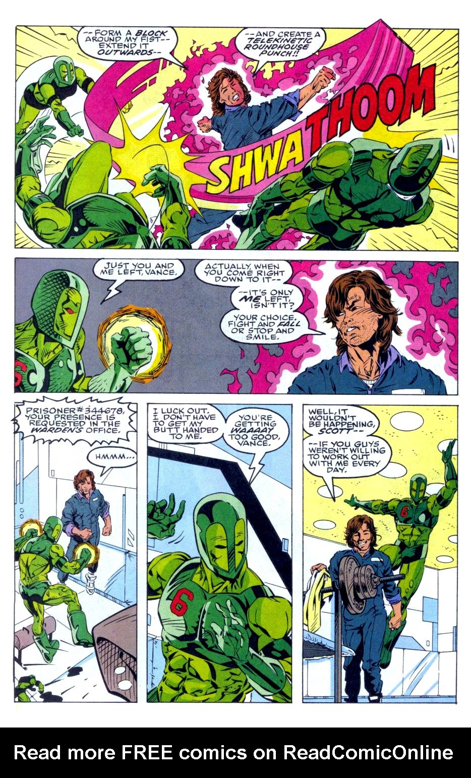 The New Warriors Issue #36 #40 - English 5