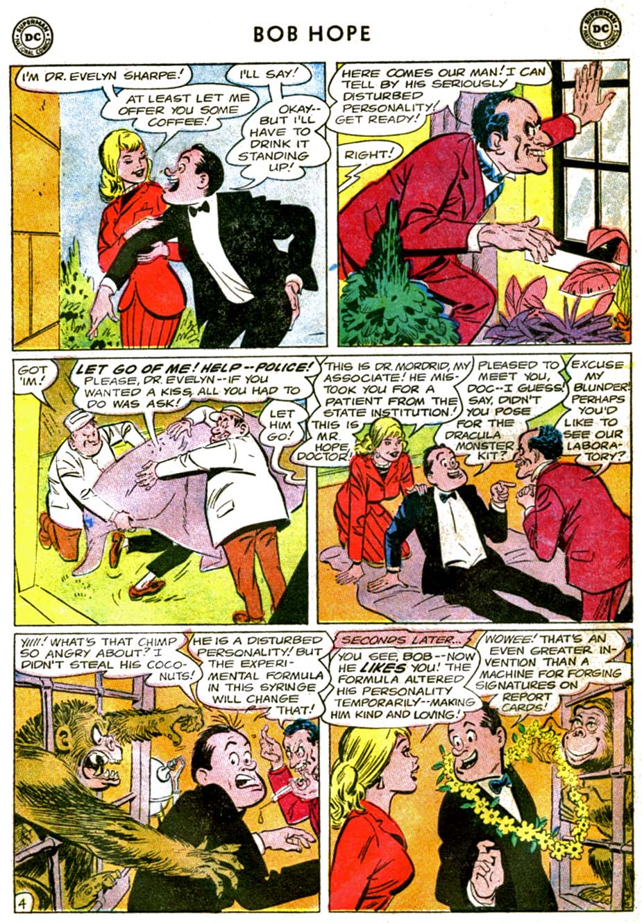 The Adventures of Bob Hope issue 92 - Page 6