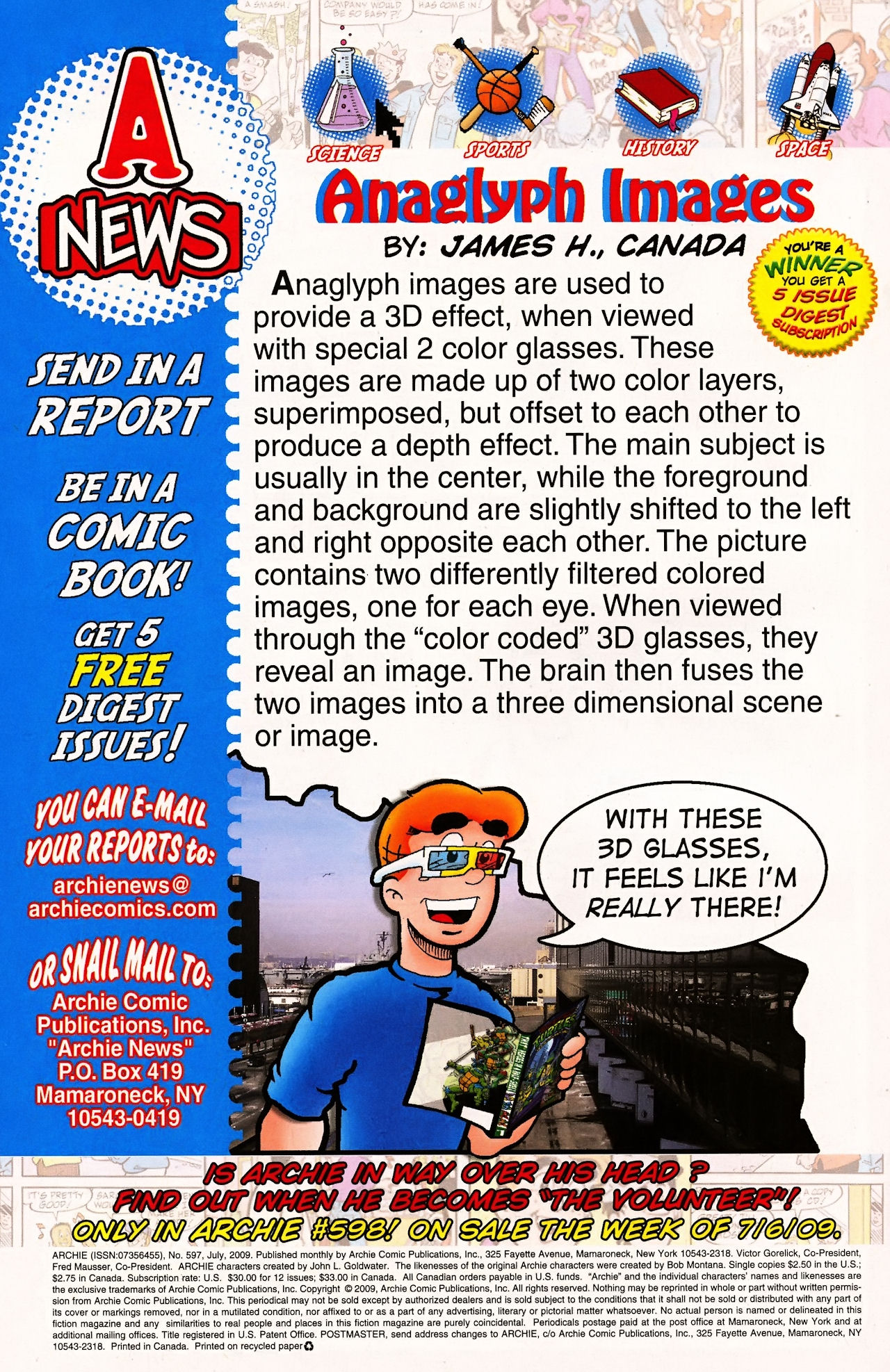 Read online Archie (1960) comic -  Issue #597 - 34