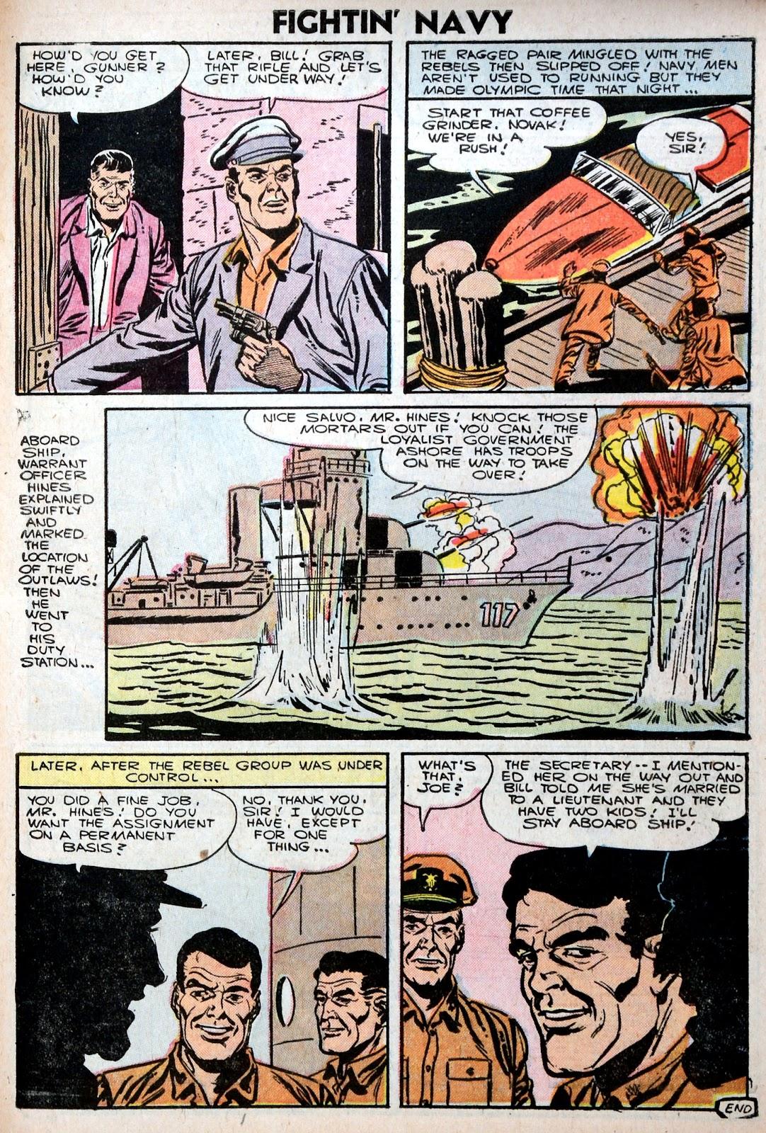 Read online Fightin' Navy comic -  Issue #75 - 27