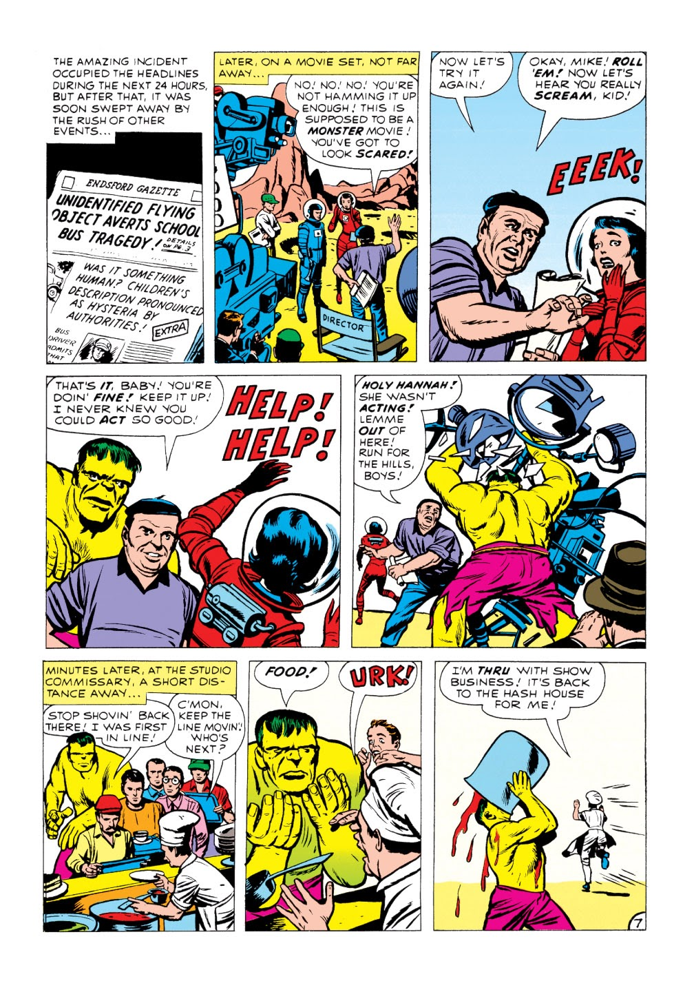 Read online Marvel Masterworks: The Incredible Hulk comic -  Issue # TPB 1 (Part 1) - 85