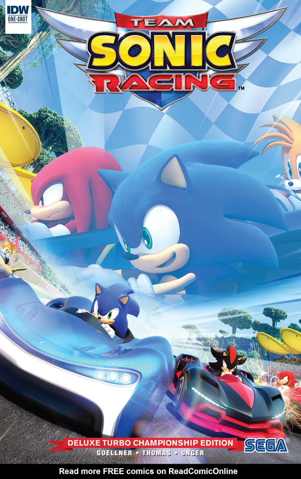 Team Sonic Racing Deluxe Turbo Championship Edition Full Page 1