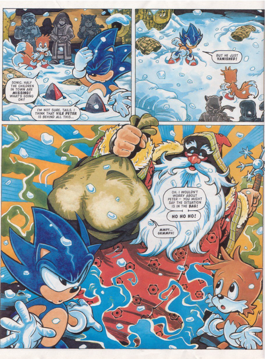 Read online Sonic the Comic comic -  Issue #119 - 6