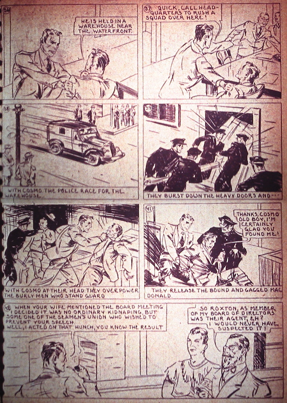Read online Detective Comics (1937) comic -  Issue #3 - 21