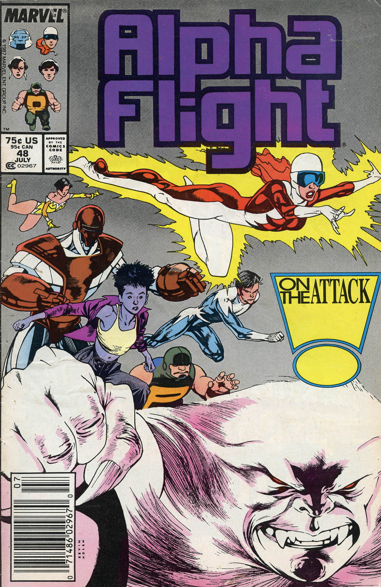Alpha Flight (1983) 48 Page 1