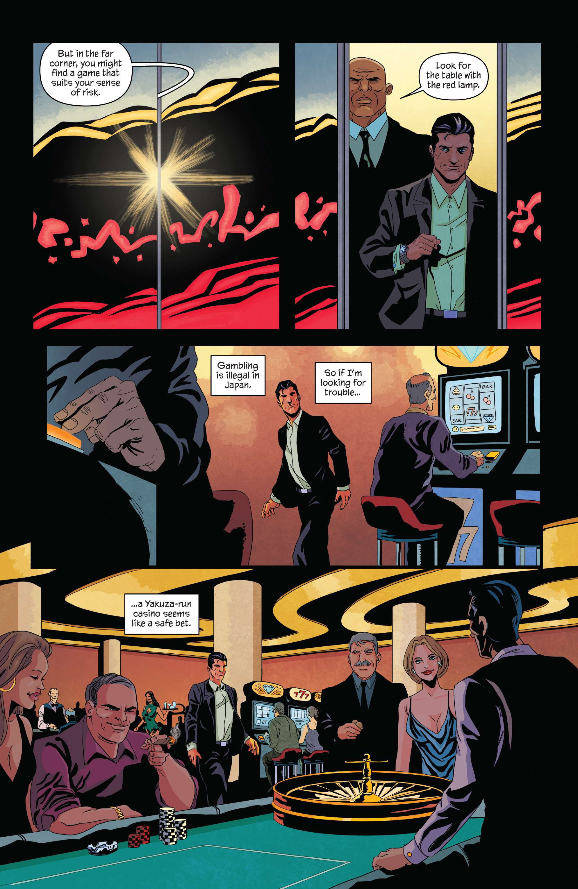 Read online James Bond (2017) comic -  Issue #2 - 5