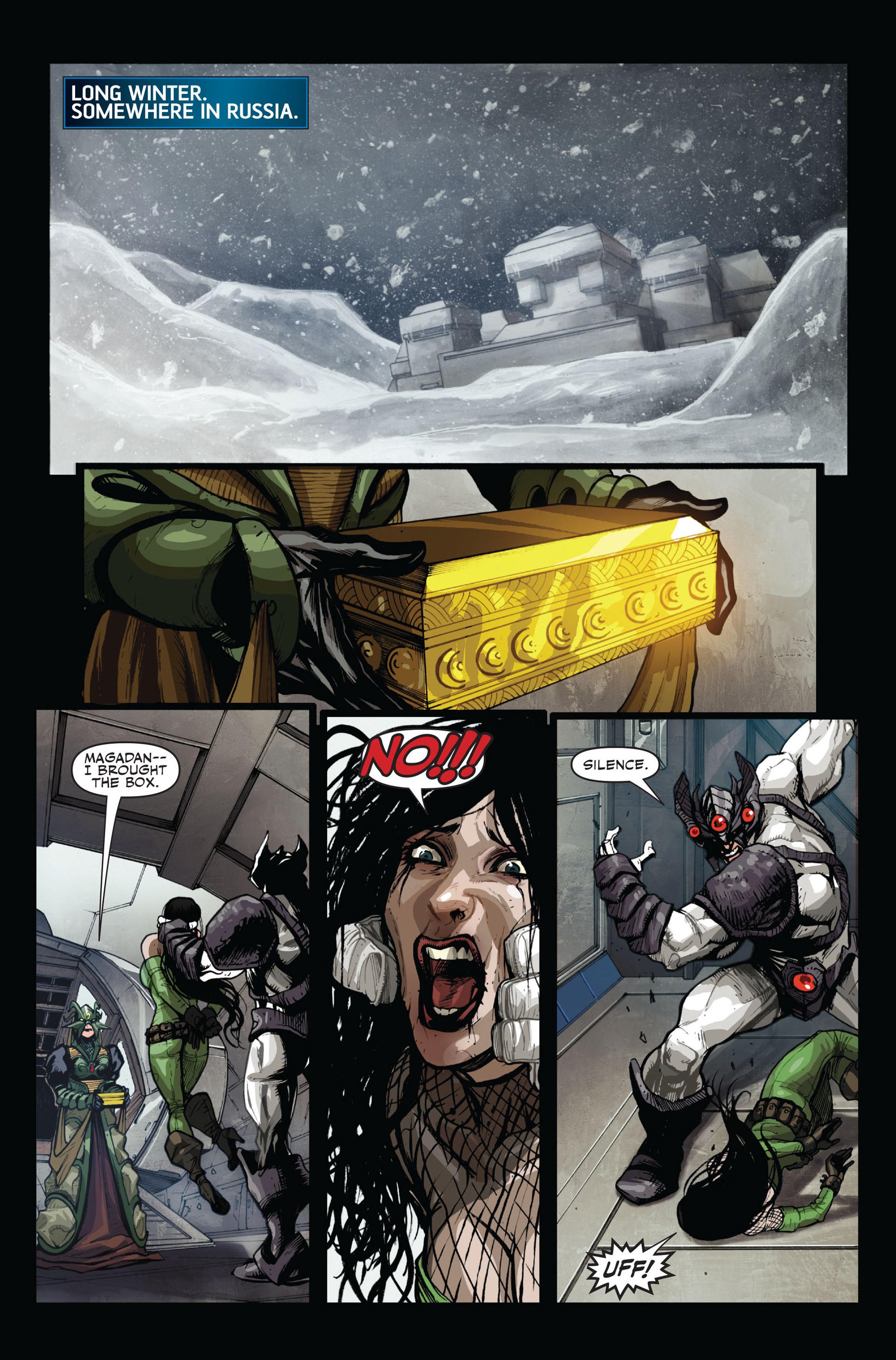 Read online Secret Warriors comic -  Issue #14 - 7