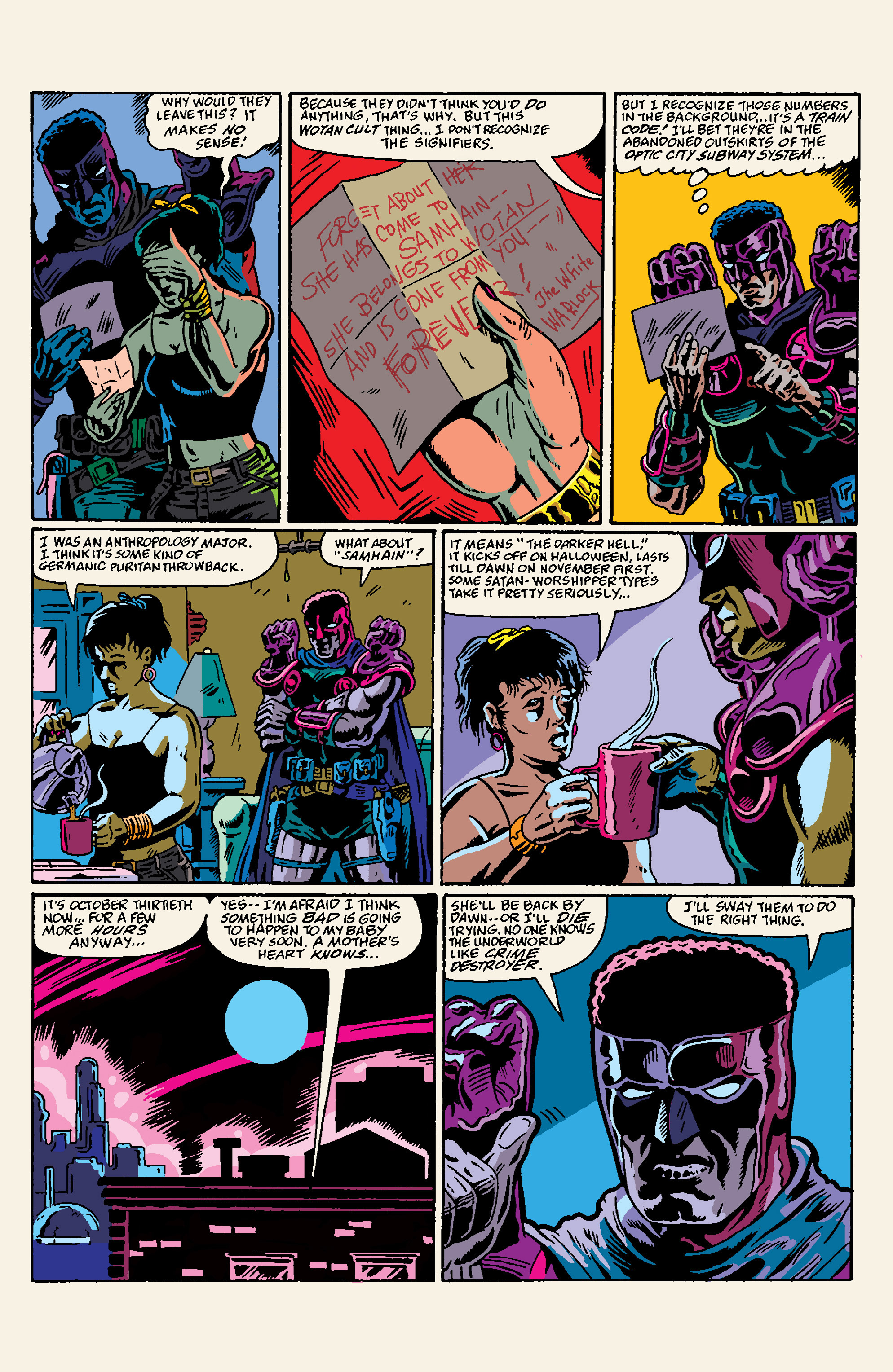 Read online All Time Comics: Crime Destroyer comic -  Issue #1 - 5