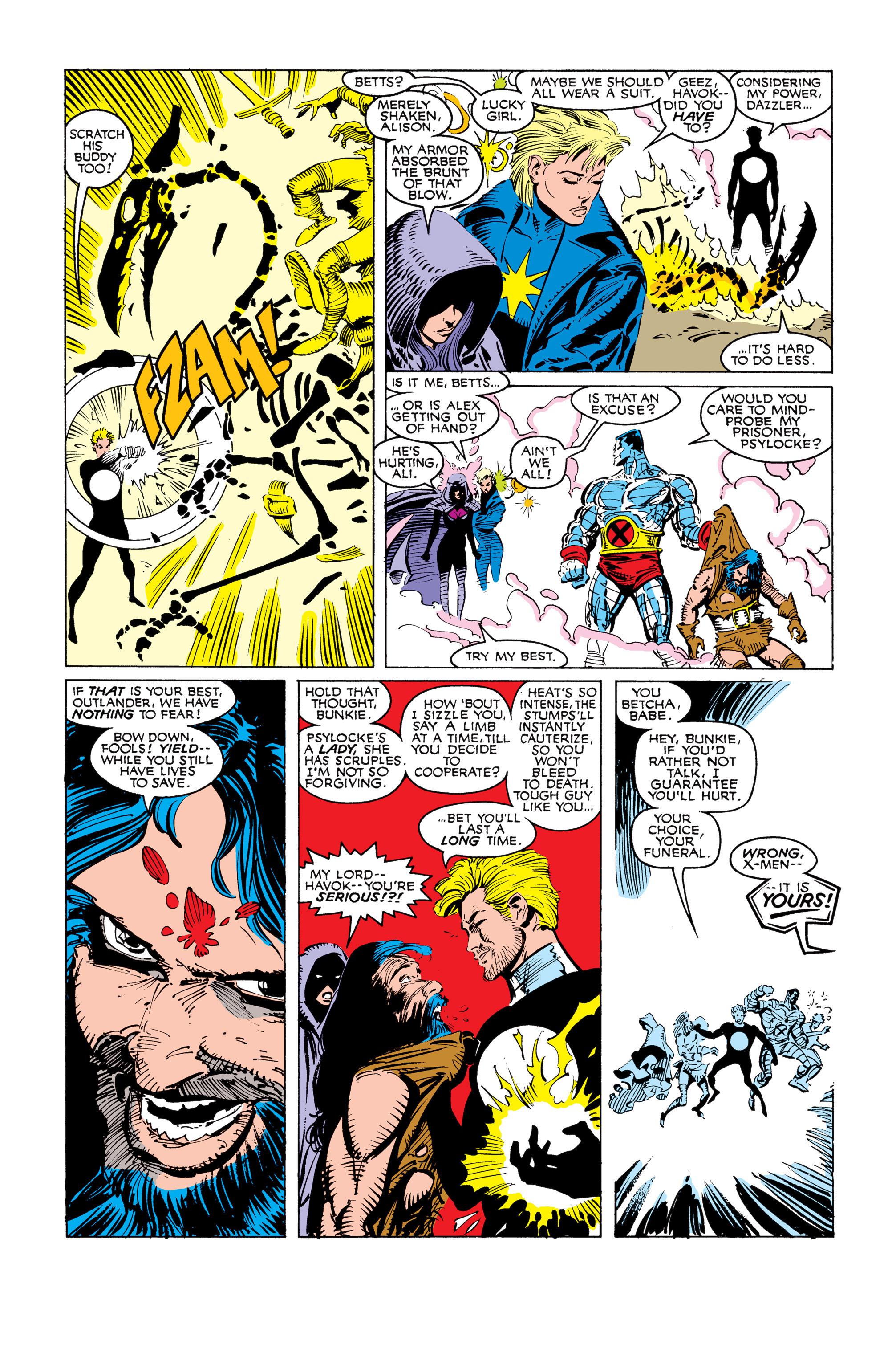 Read online Uncanny X-Men (1963) comic -  Issue #249 - 17