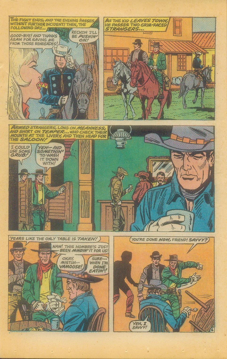 The Rawhide Kid (1955) issue 92 - Page 8