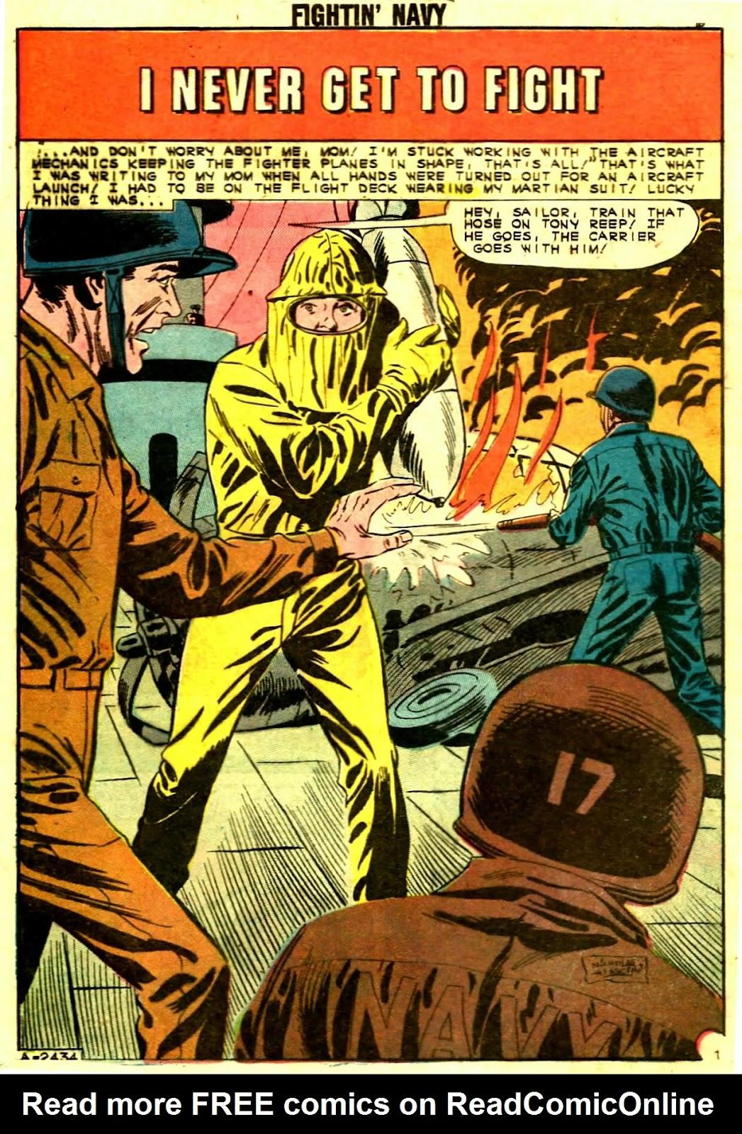 Read online Fightin' Navy comic -  Issue #109 - 8