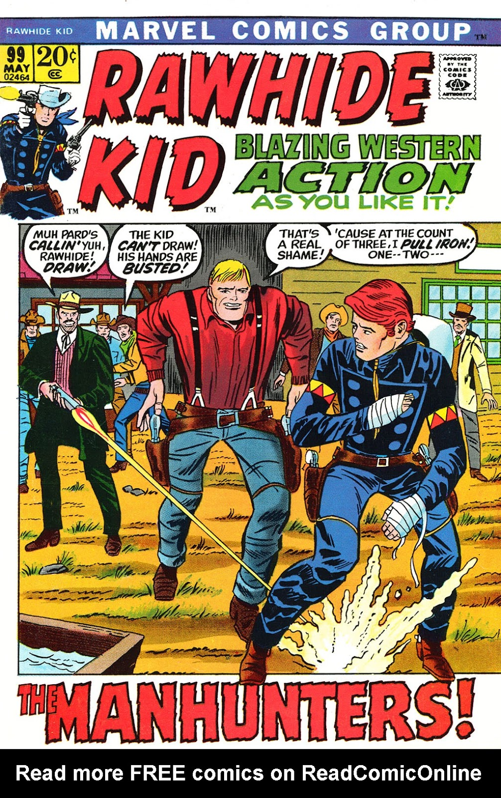 The Rawhide Kid (1955) issue 99 - Page 1