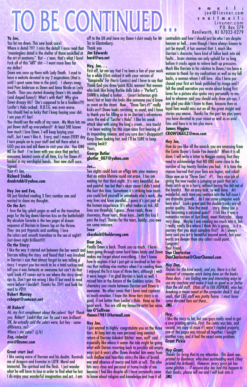 Read online Dawn: Three Tiers comic -  Issue #2 - 23